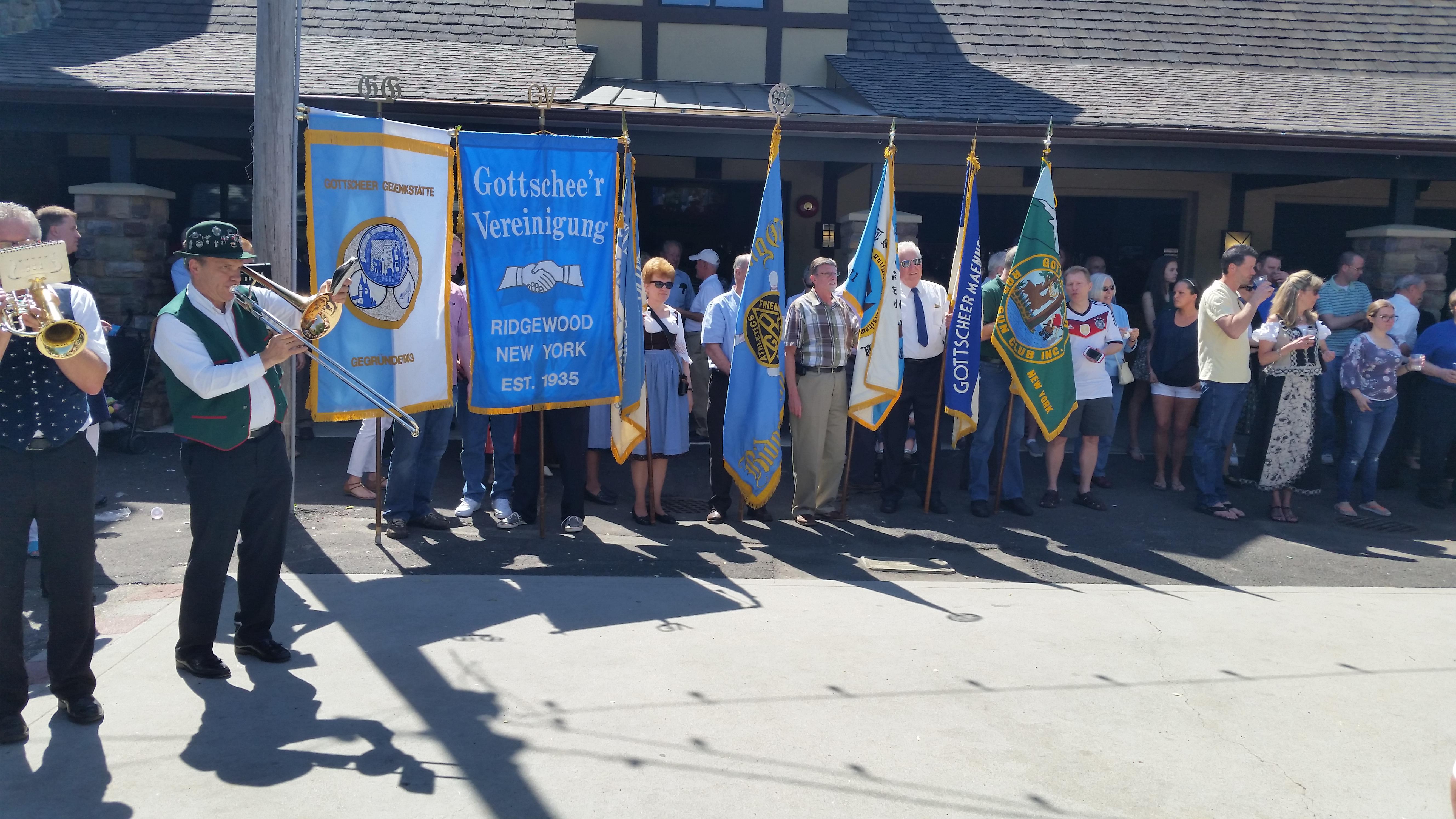 Gottscheer descendants attend a festival in New York