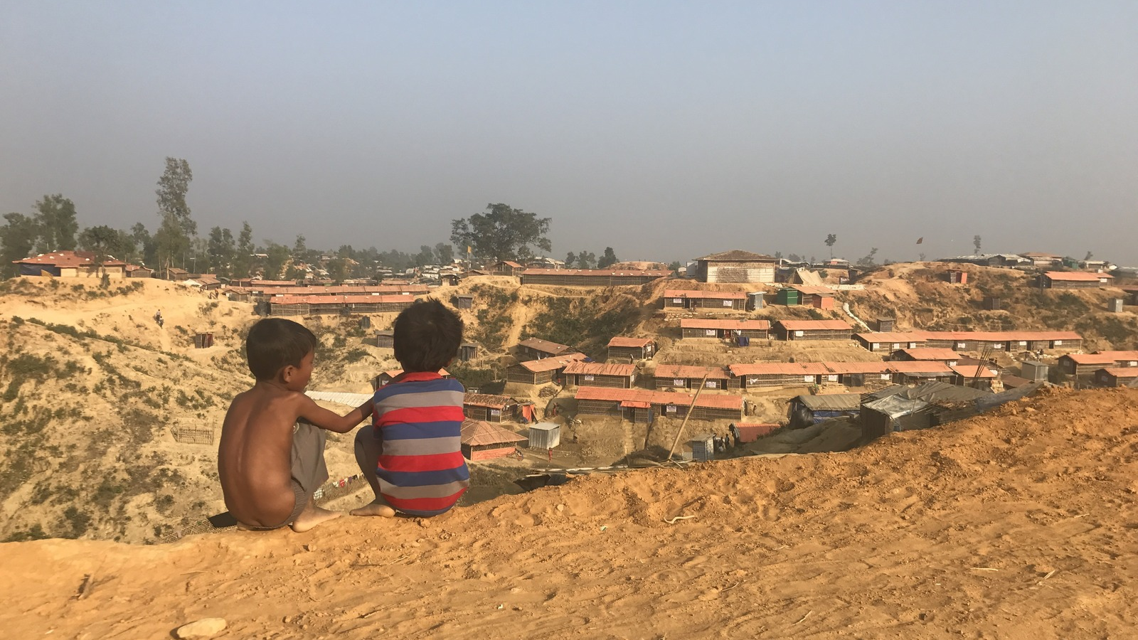 With already tenuous housing, the looming monsoon season threatens Rohingya refugee camps