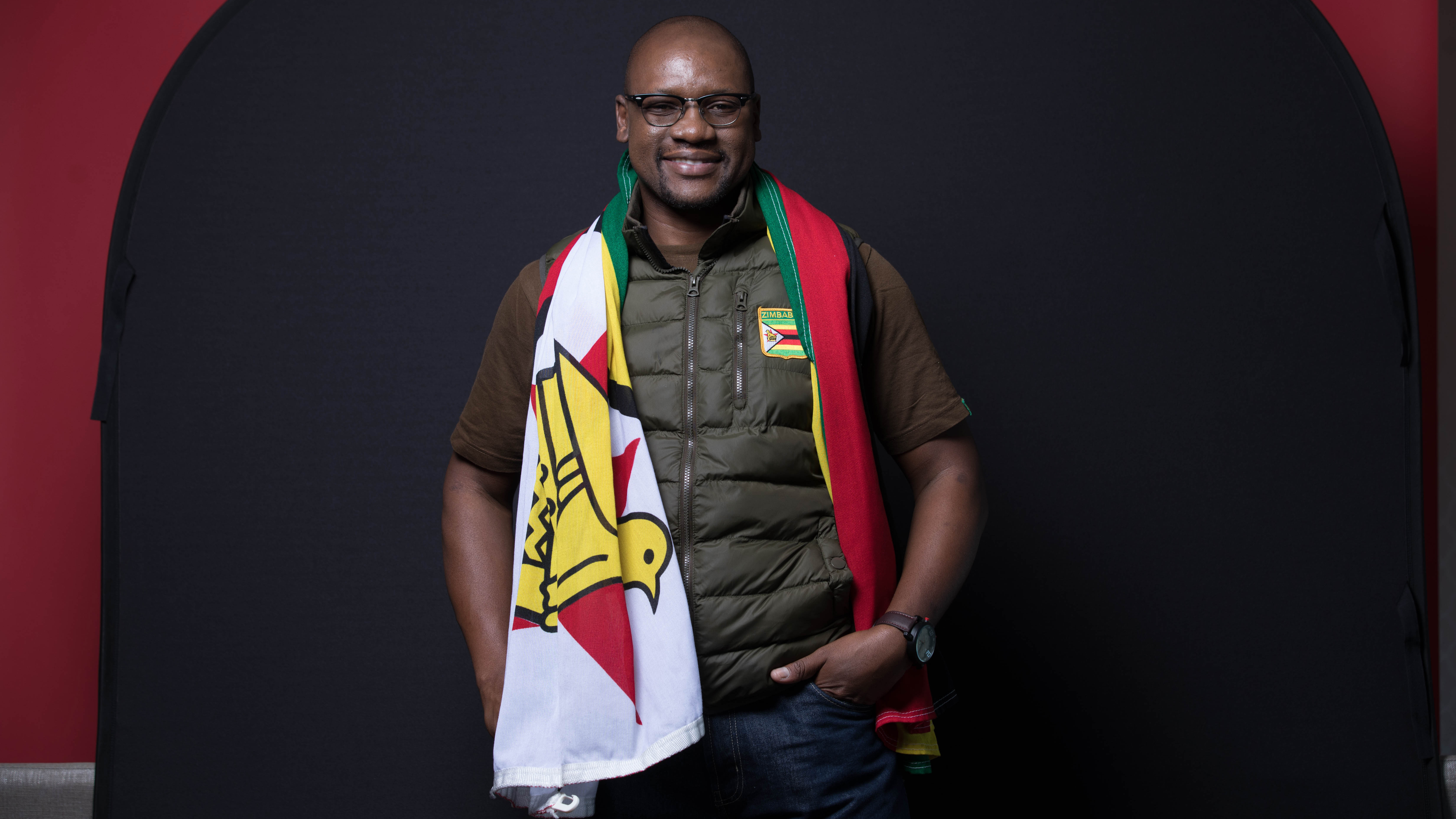 """Before 2016, Evan Mawarire was a little-known pastor in Zimbabwe. Now he's entered politics. """"People went so far as clamoring for me to run for president,"""" he said. """"That is not a call to be taken lightly."""""""