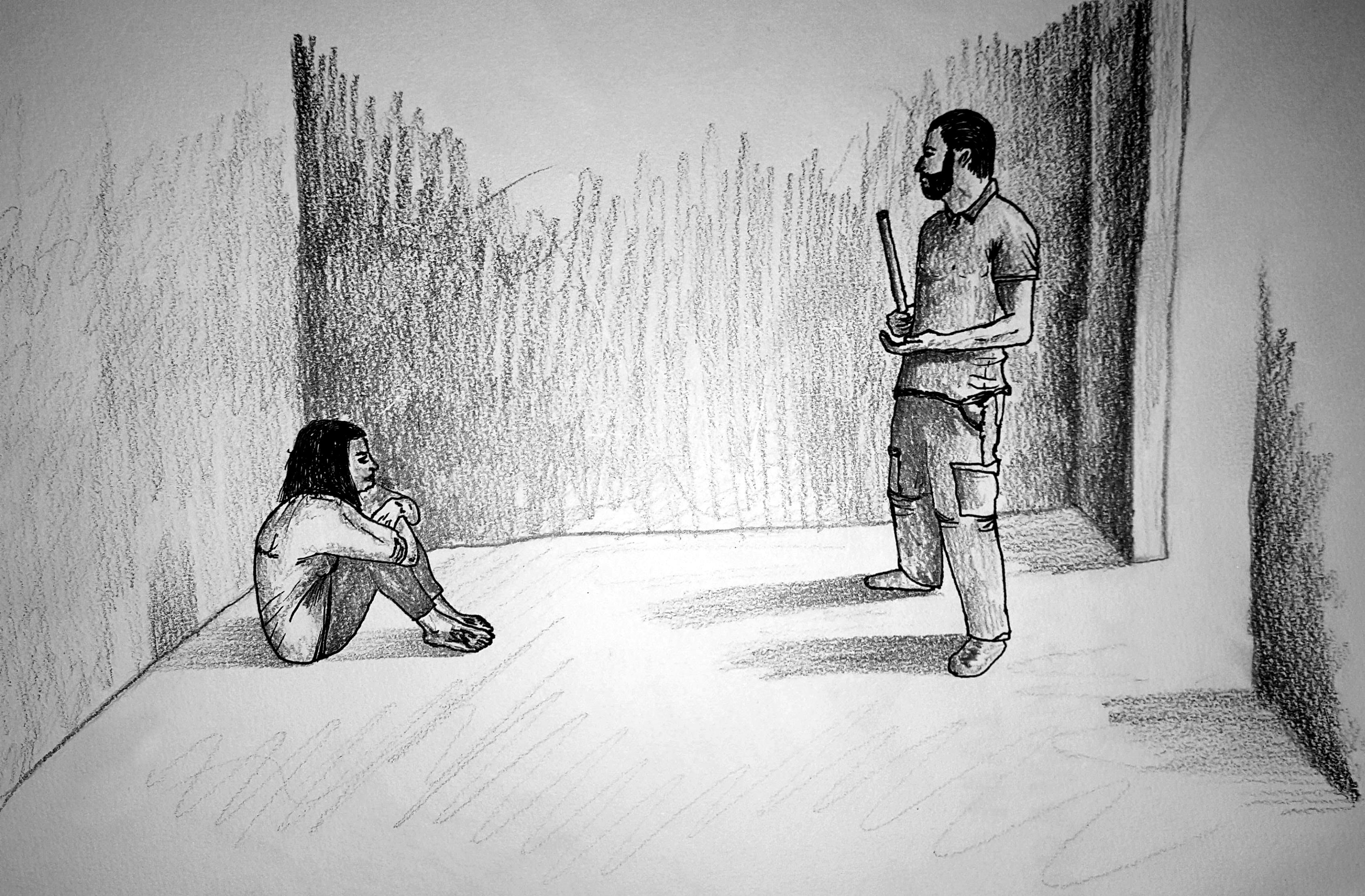 Syria Torture Prison Drawing Public Radio International