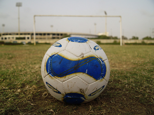 The soccer players at the School for International Studies are a committed group. Four days a week, they meet at around 7 AM for a pickup game before school.
