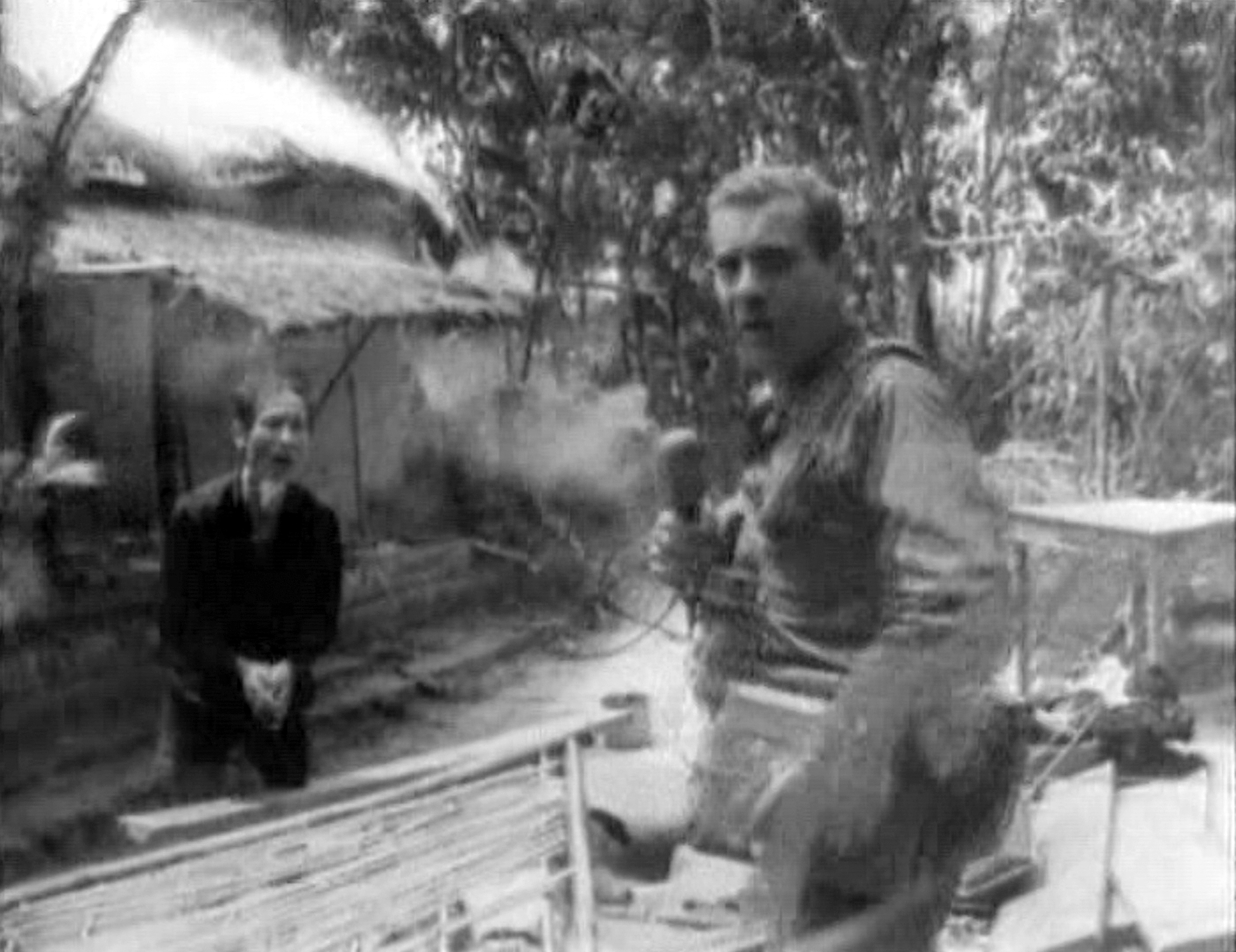 Morley Safer, correspondent for CBS News, reporting on the systematic burning of South Vietnamese villages by US Marines in Cam Ne, Vietnam, 1965.