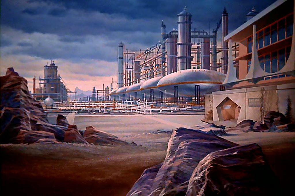 Science fiction Star Trek paintings.