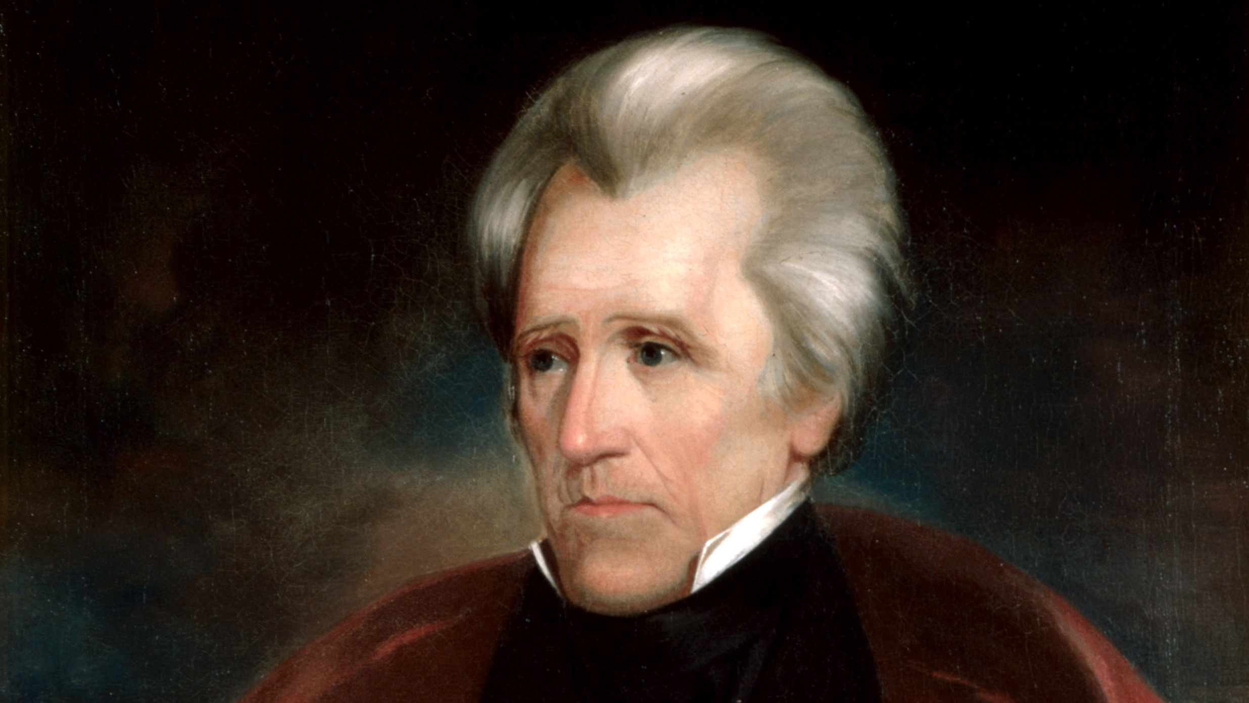 donald trump compared to andrew jackson public radio international portrait of andrew jackson the seventh president of the united states by ralph e w earl