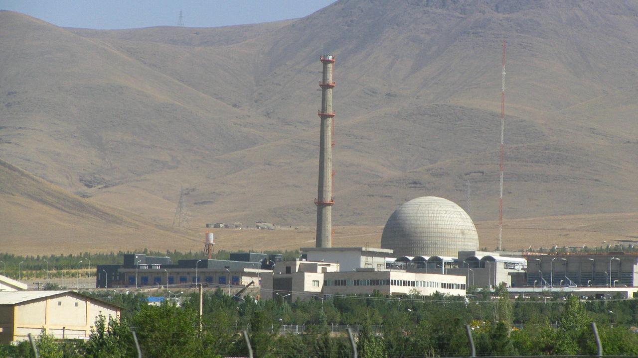 The Arak IR-40 heavy water reactor in Iran.