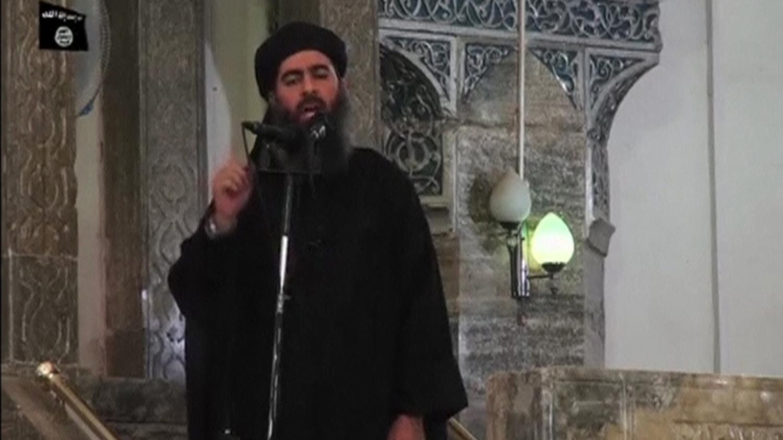 Abu Bakr al-Baghdadi, the leader of ISIS