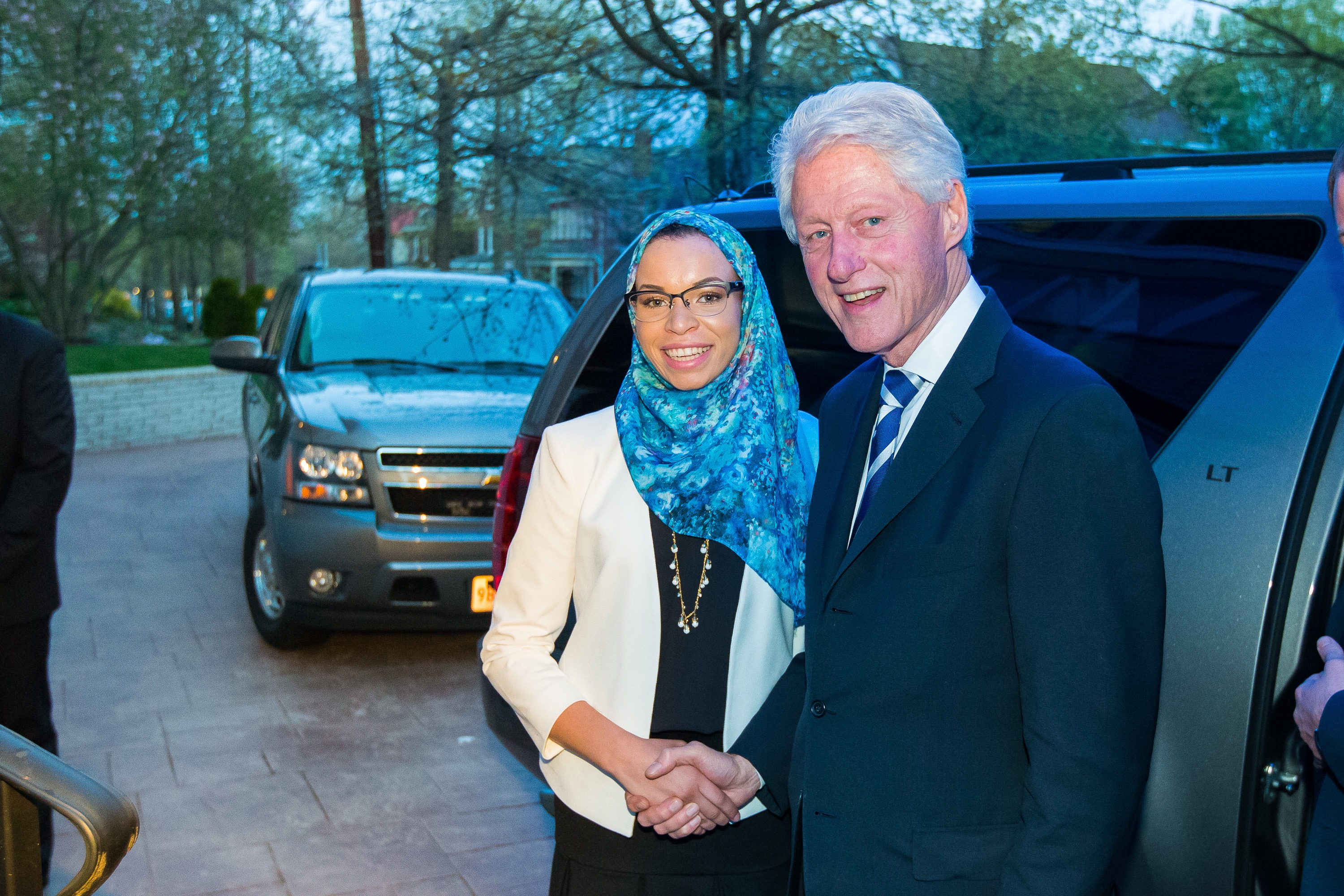 yes bill clinton i am a muslim who loves america and freedom