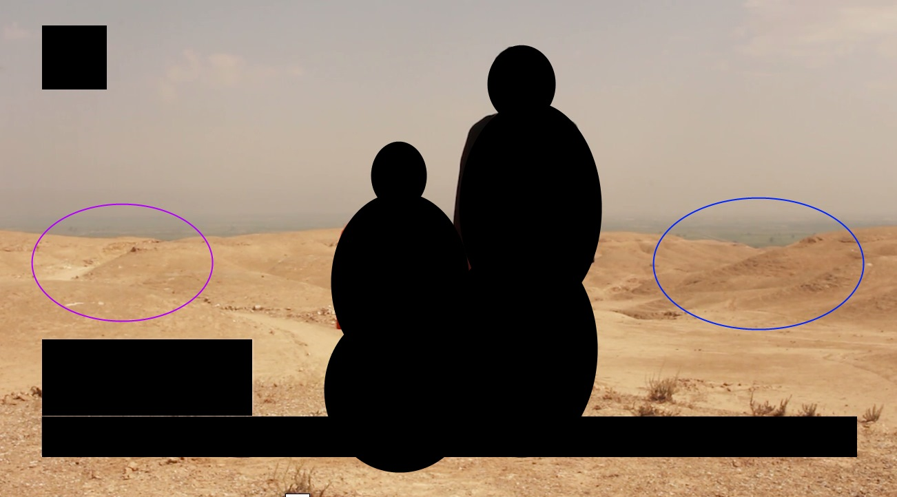 According to Bellingcat, information in the James Foley execution video helped geolocate that the video was filmed Raqqa, an Islamic State stronghold in north-central Syria.
