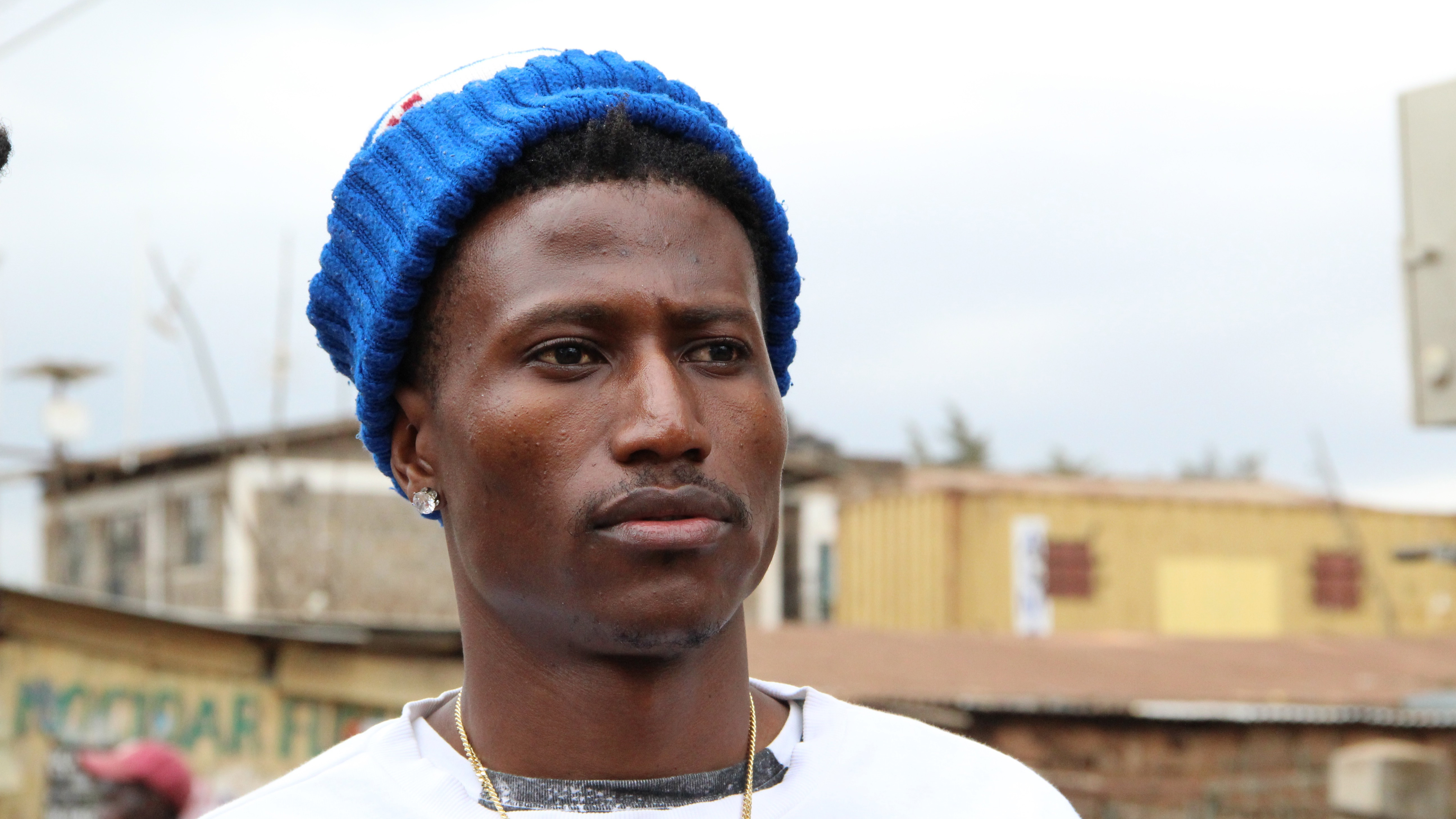 Kenyan rapper Octopizzo grew up in the Kibera slum and still has a house there. He has been speaking out against police violence he witnessed against protestors who congregated in the slum the day after the results of Kenya's election were announced.
