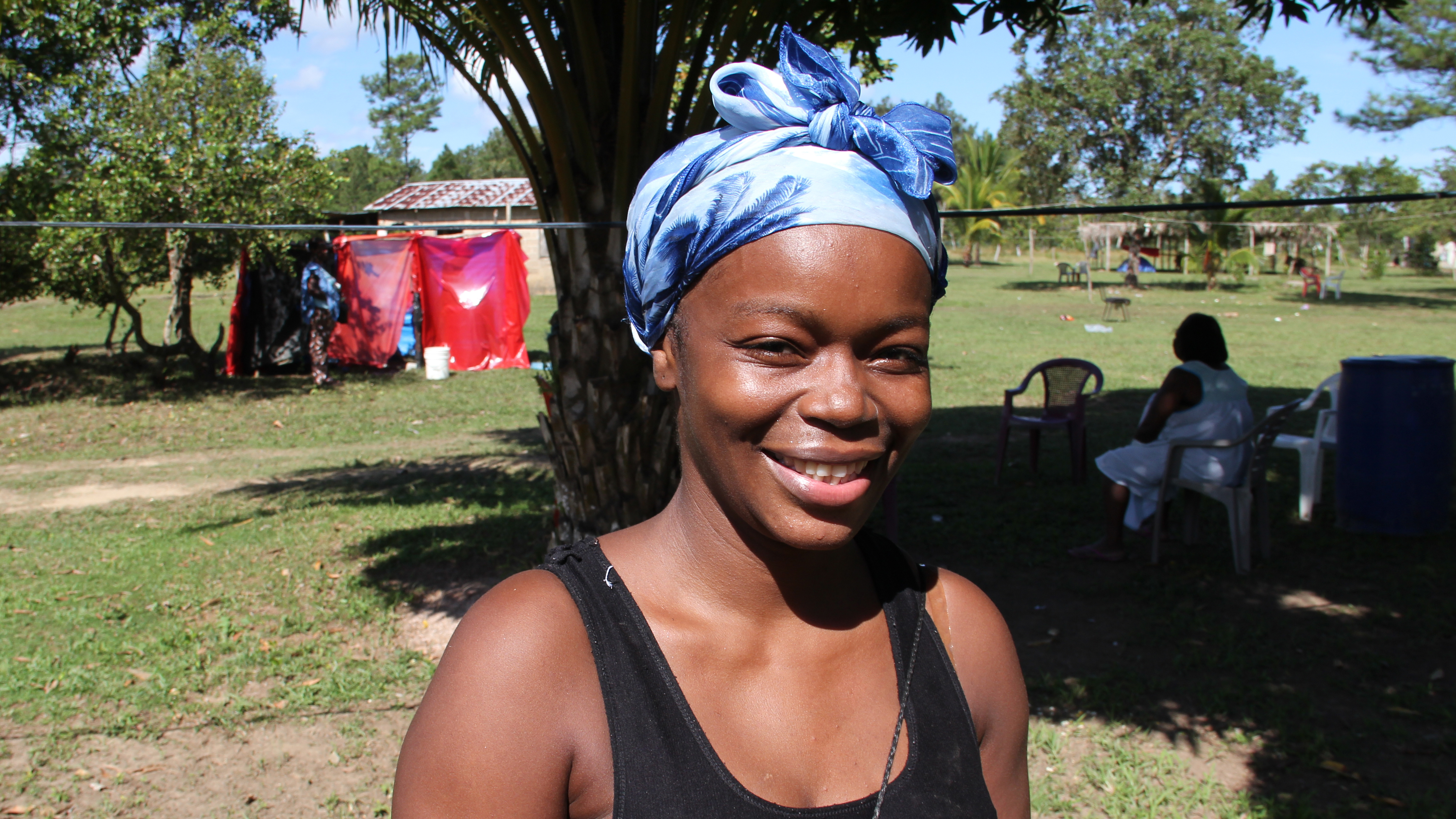 Yillian David is a Garifuna living in Honduras. She's thought of leaving to go to the US, but she's decided to stay to help preserve her culture.