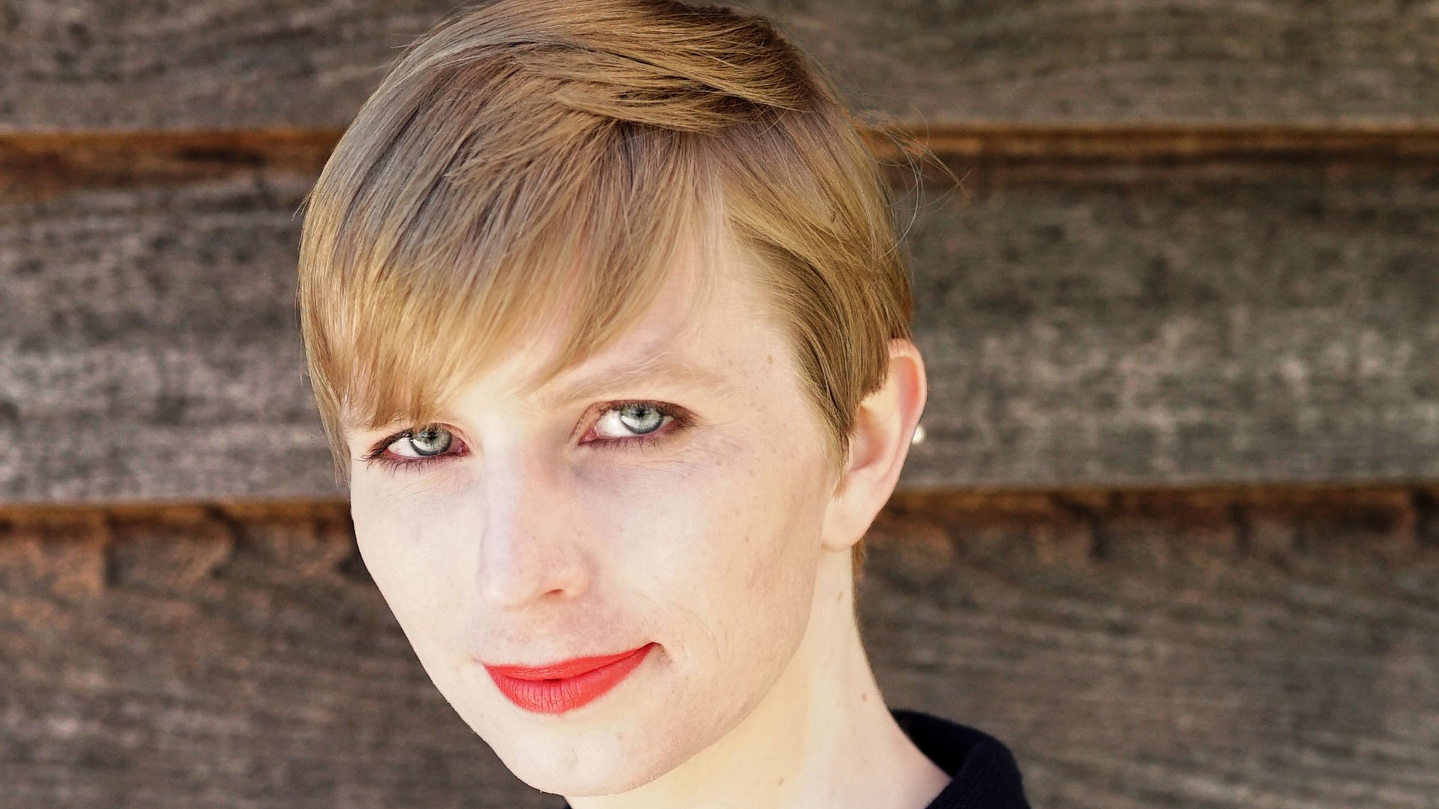 Chelsea Manning pictured in a photograph published to her Twitter account on May 18.