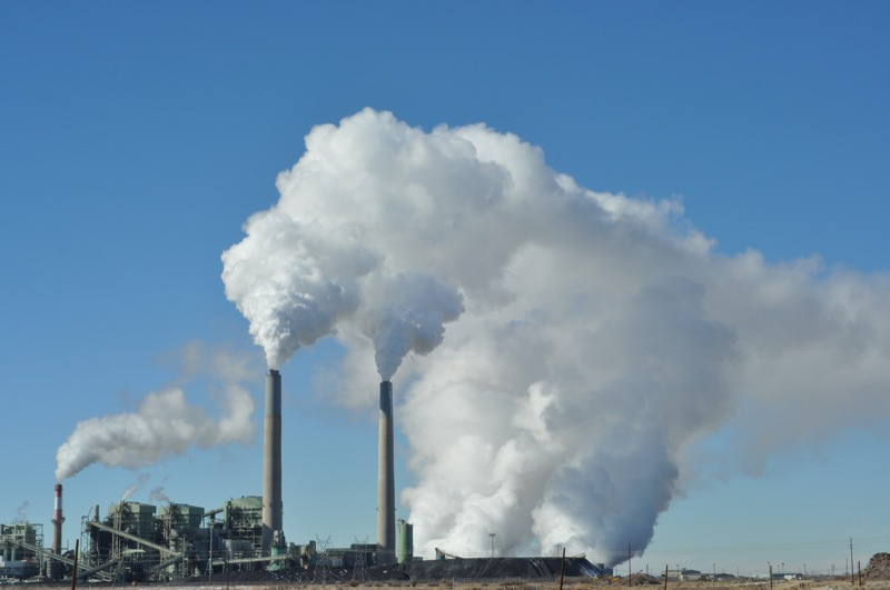 Coal power plant in New Mexico