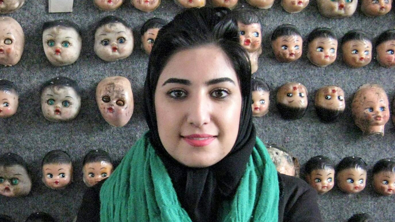 Atena Farghadani stands trial for charges that include insulting members of parliament and spreading propaganda against the system.