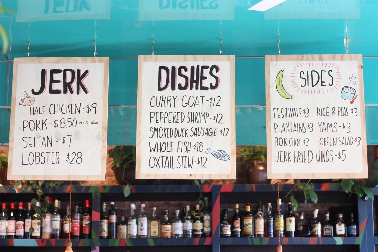 Michael Jacober's Caribbean restaurant in Brooklyn.