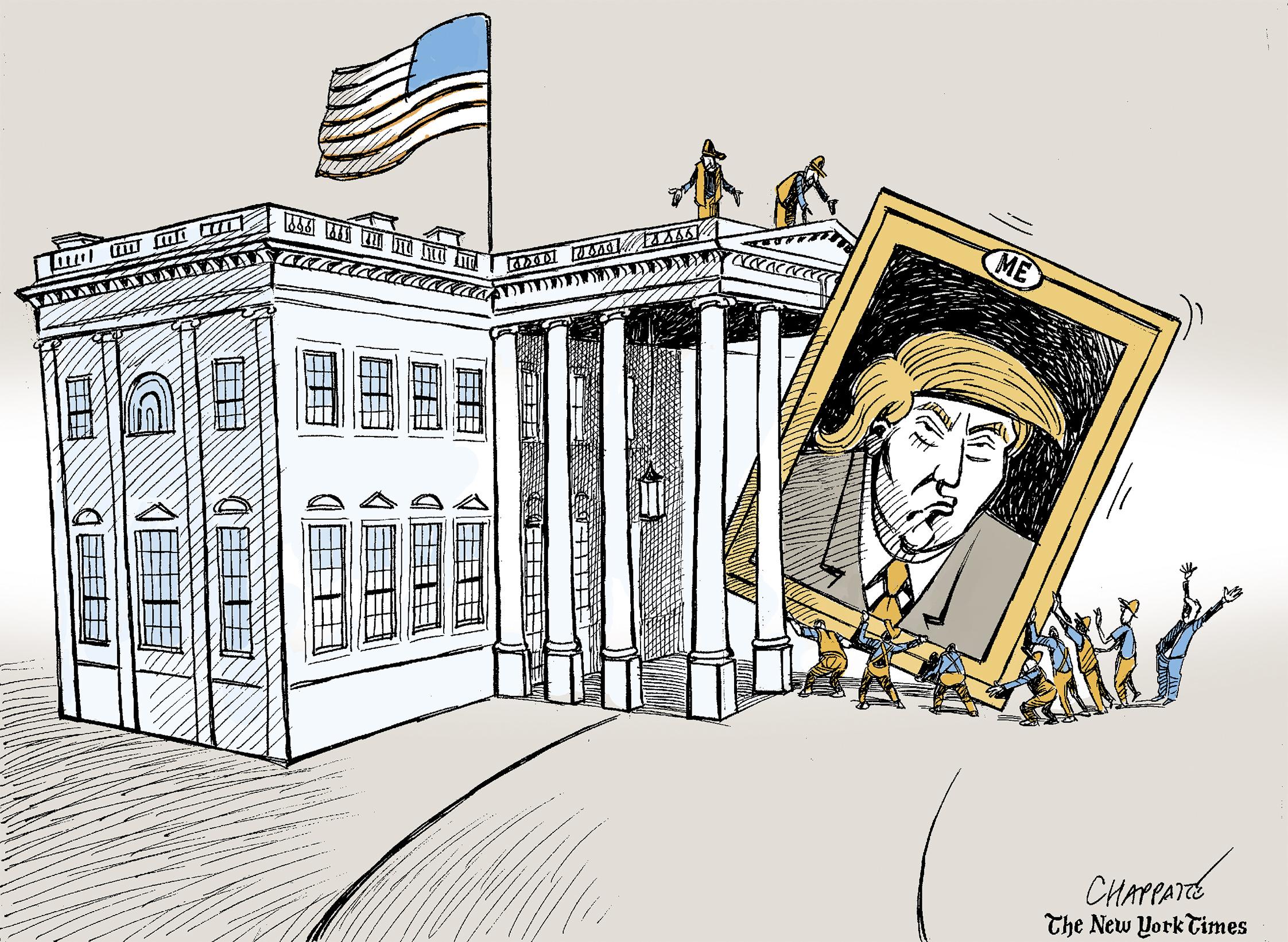 A Trump-filled Christmas in cartoons | Public Radio ...