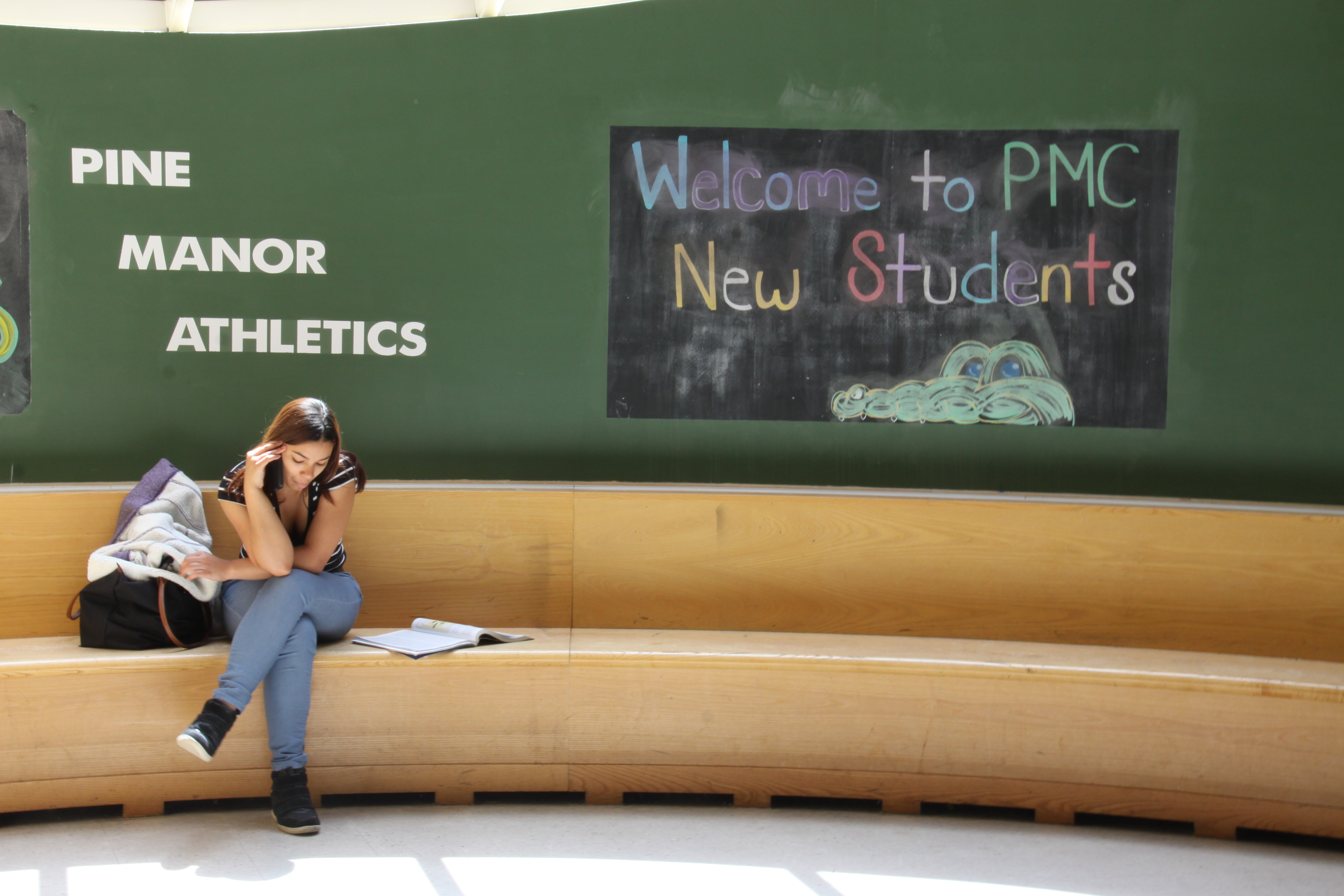 Pine Manor College suffers from low enrollment, high debt and a small endowment.