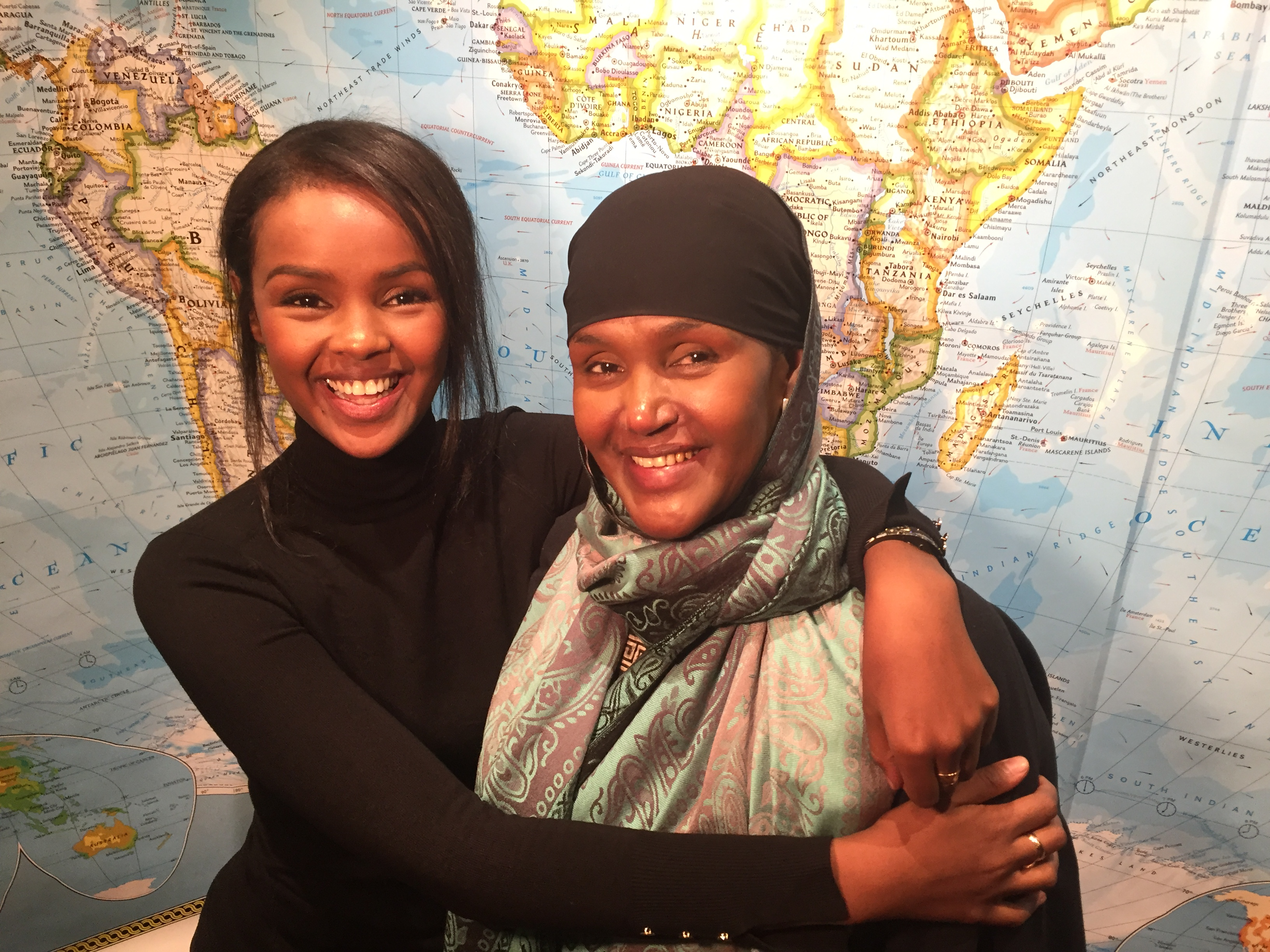 Ilwad Elman and her mother Fartuun Adan created the Elman Peace and Human Rights Center in Mogadishu.