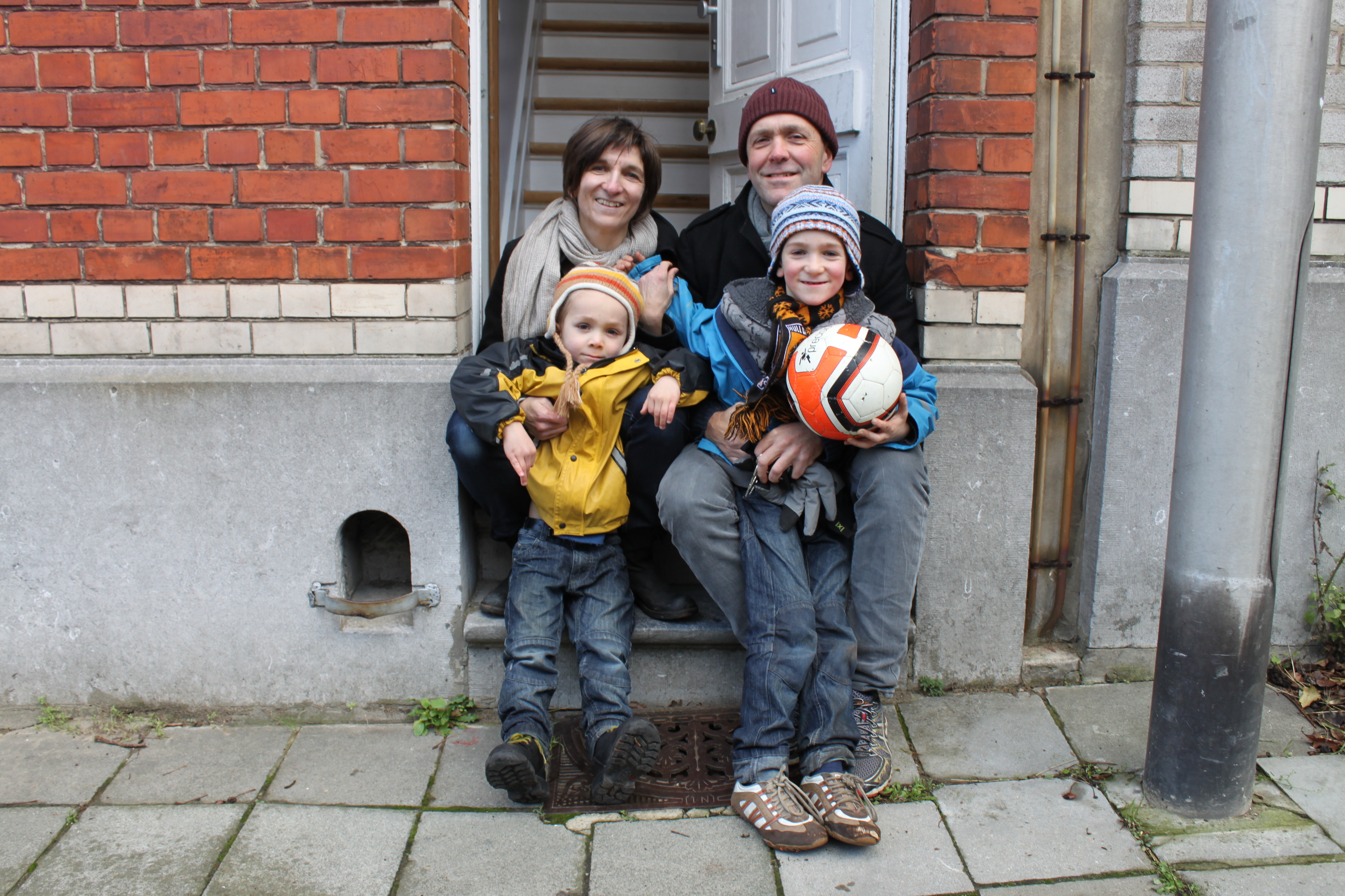 One family's decision to take in refugees: 'We're all in the same boat'