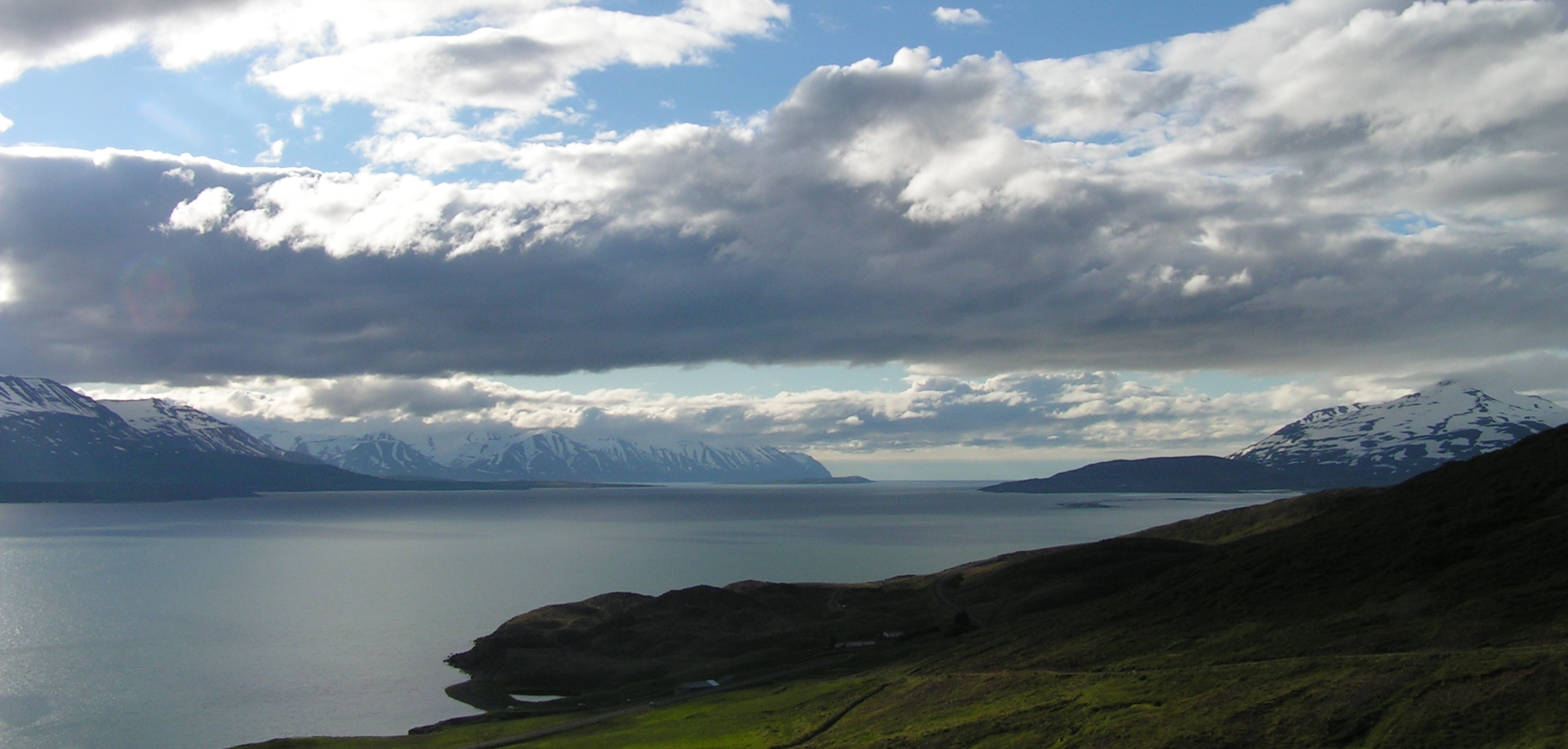 Mountain view in Iceland