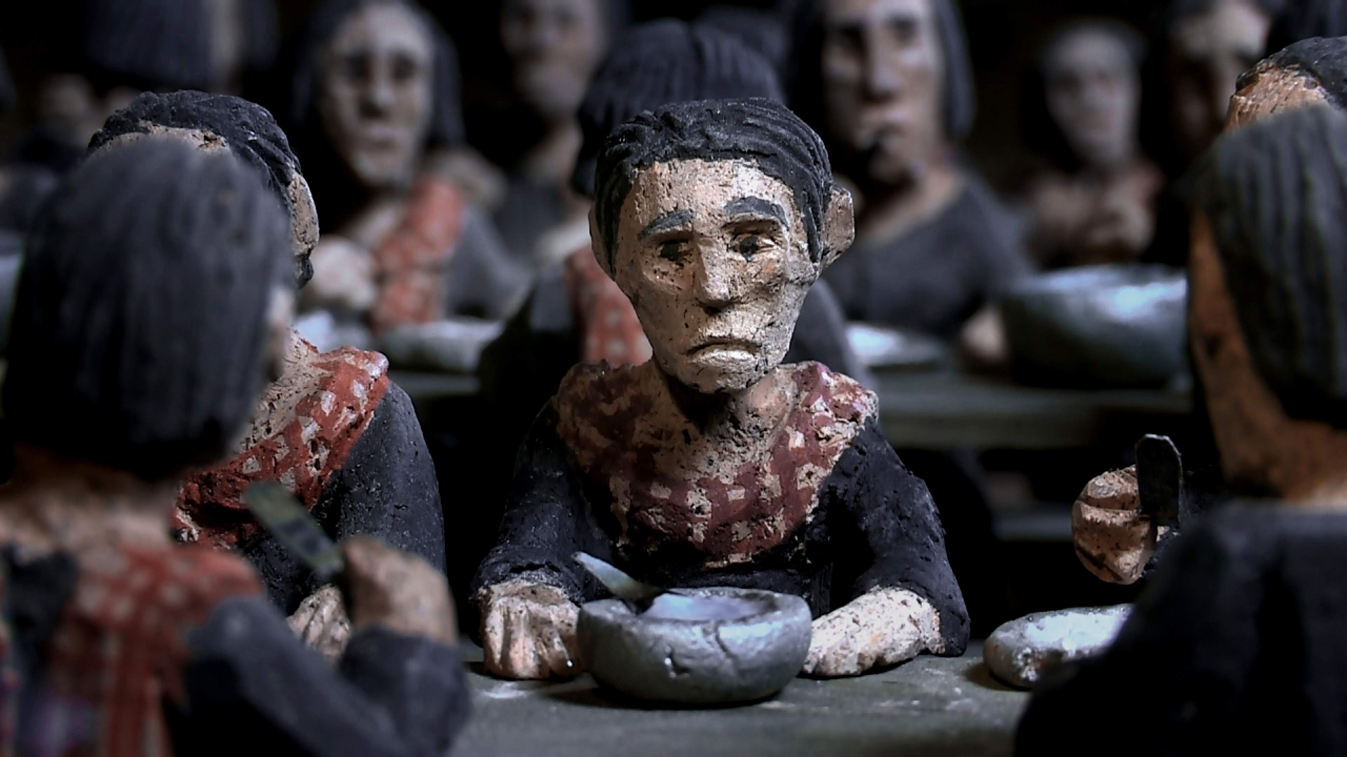 """Director Rithy Panh uses clay figurines to represent Cambodians in his Oscar-nominated film memoir """"The Missing Picture"""". It's about his boyhood memories of living under the Khmer Rouge from 1974 to 1978. Panh lost almost every member of his immediate and"""