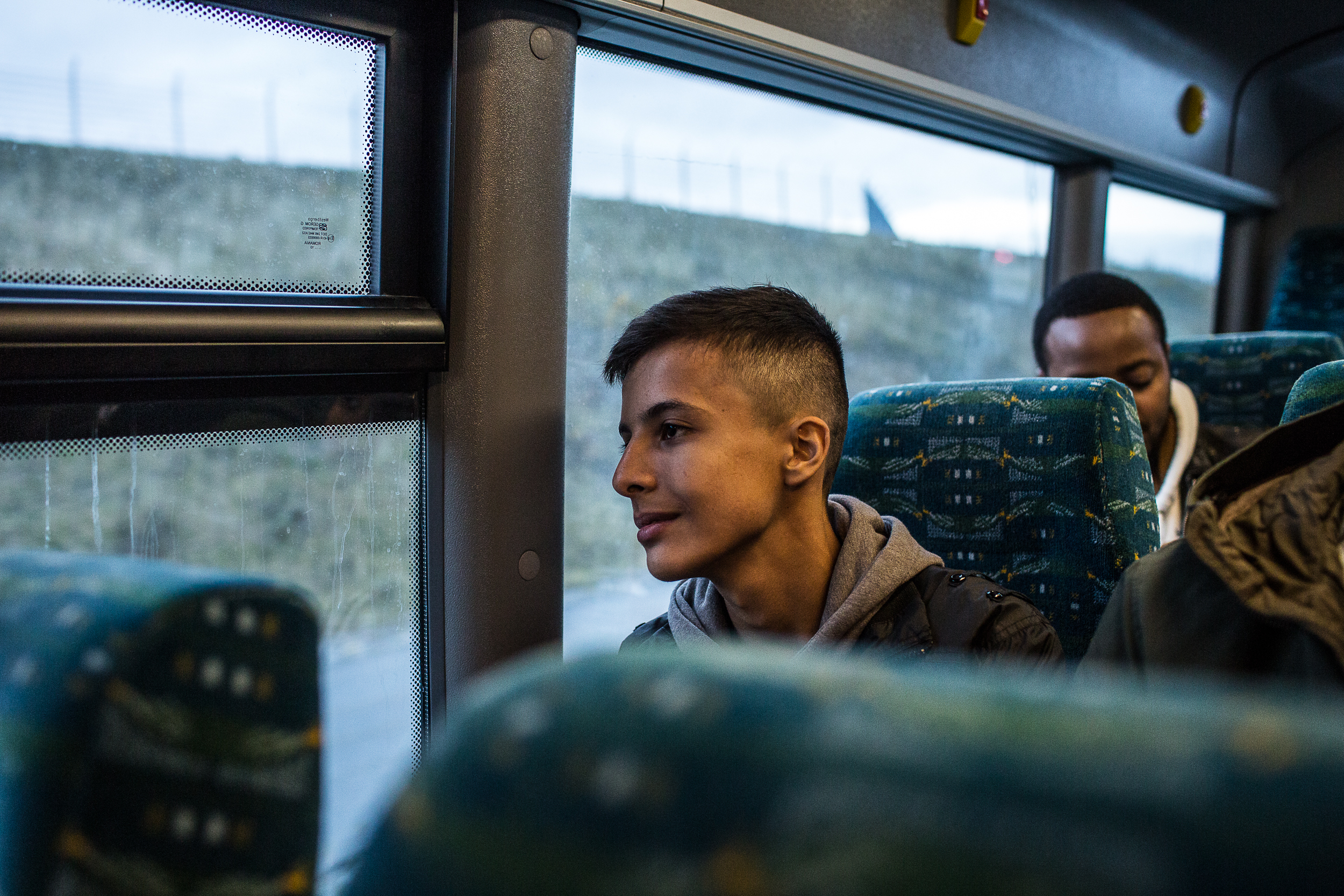 Syrians asylum seeker, Nawras Soukhta travel by train during a three-year journey to escape his country and live a better life in Sweden.