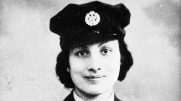 Noor Inayat Khan, in the uniform of the British Women's Auxiliary Air Force, 1943