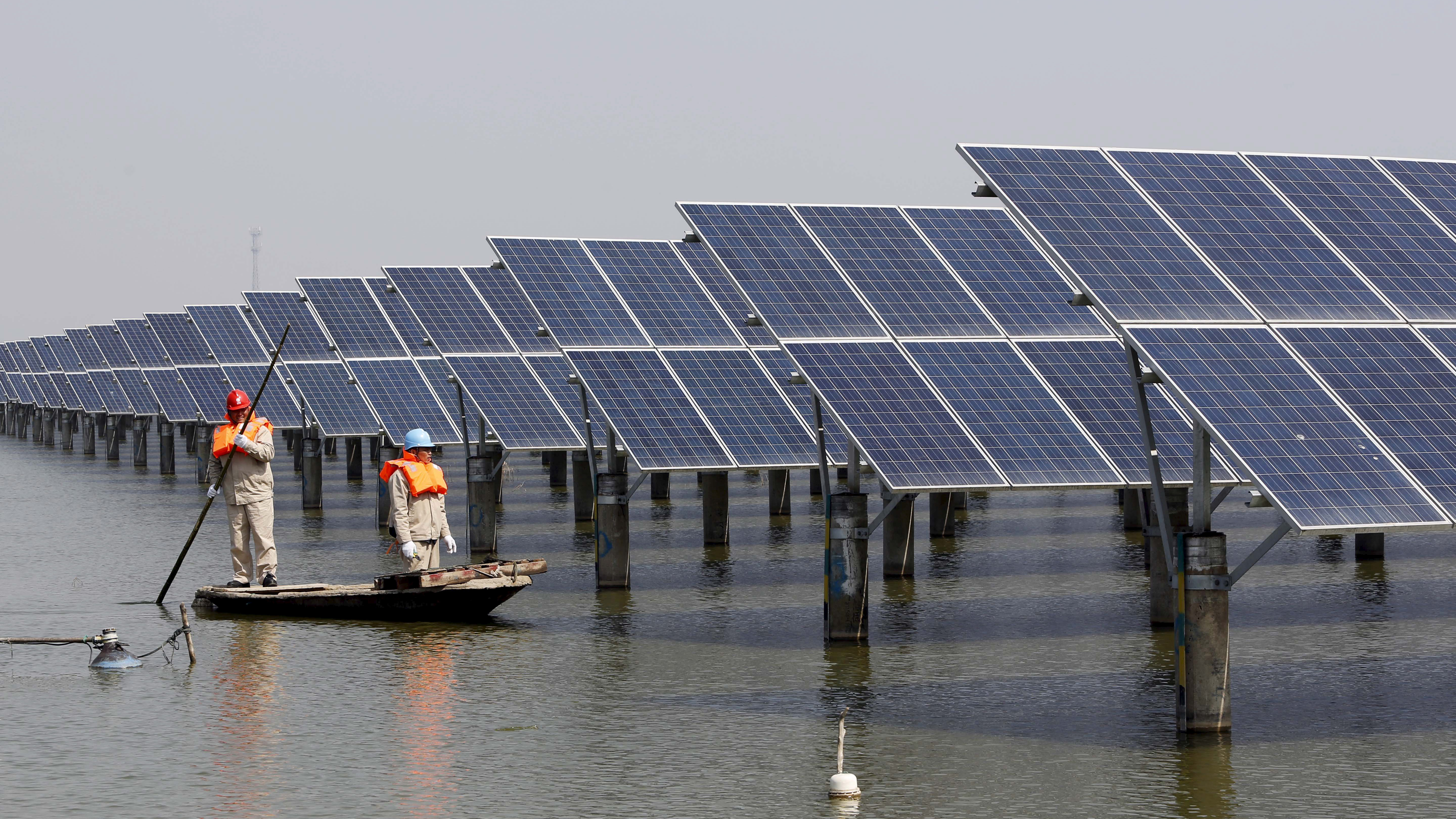 China says it will invest another $361 dollars in renewable energy over the next four years and create 13 million new jobs in the sector, building on previous massive investments. The country already has the largest capacity of solar p