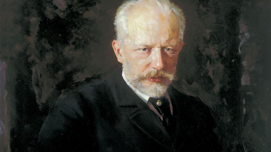 Portrait of Tchaikovsky by Nikolai Kuznetsov