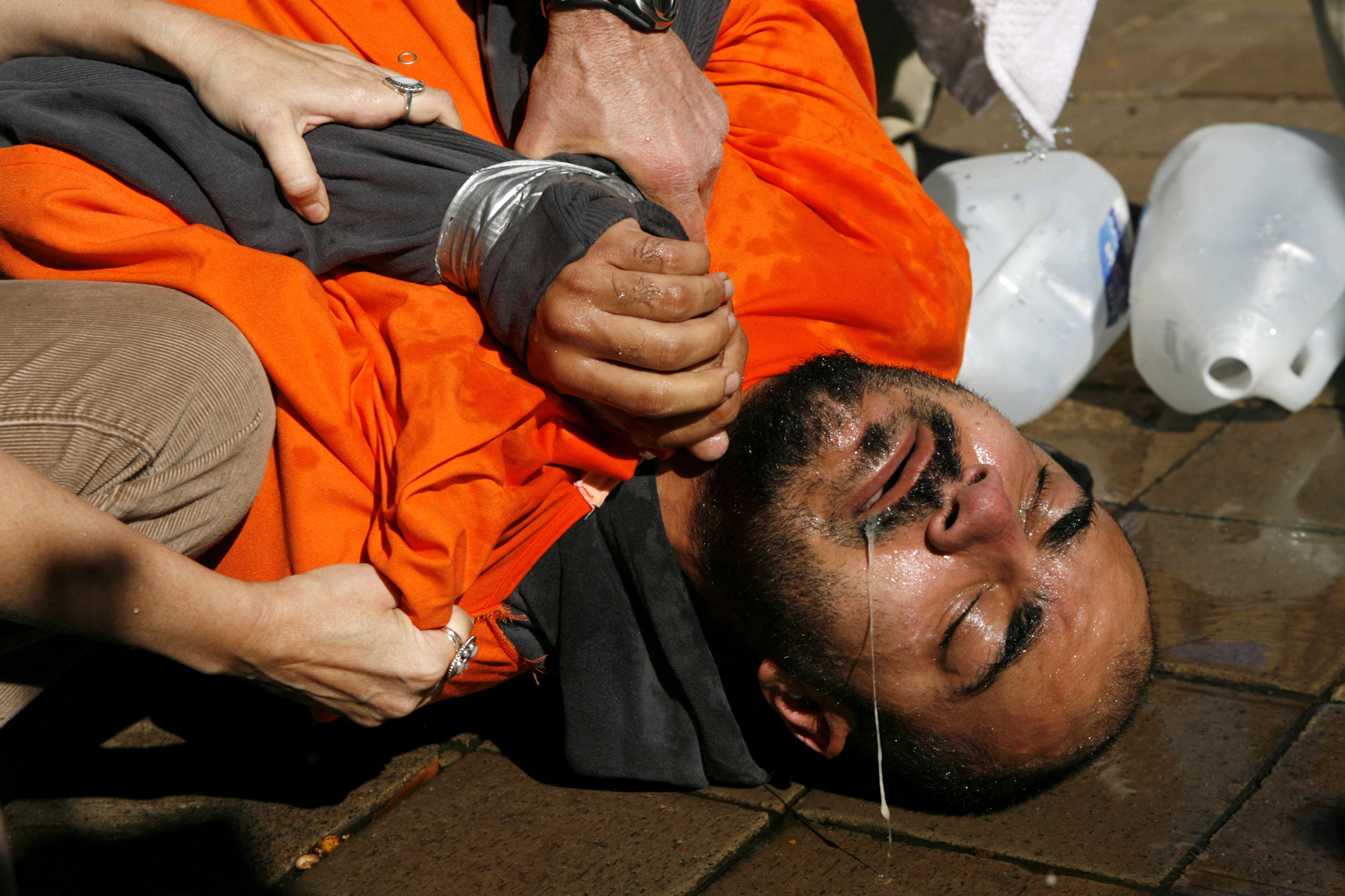 is torture ever an acceptable method Nearly two-thirds of americans believe torture can be justified to extract  information  waterboarding - an interrogation technique that simulates drowning  that human rights  only 15 percent said torture should never be used.