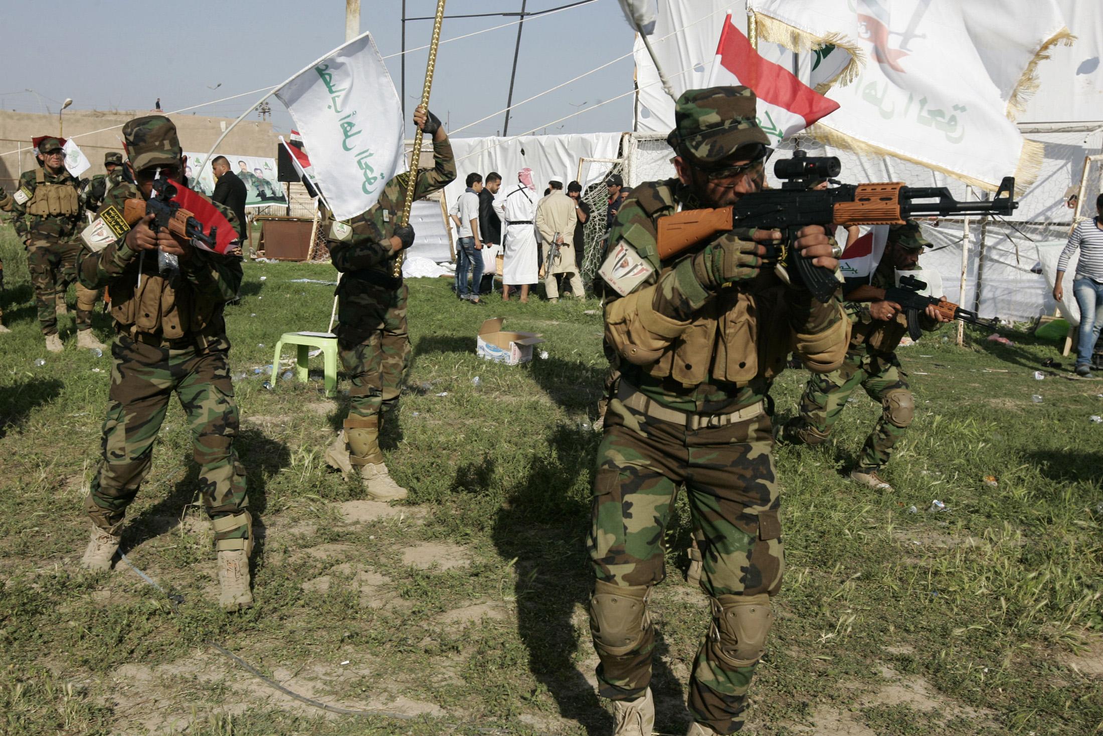 Iraq's Shi'ite militia Asaib Ahl al-Haq