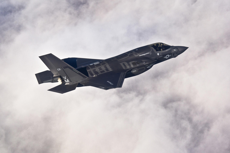 Lockheed Martin F-35B Lightning II joint strike fighter