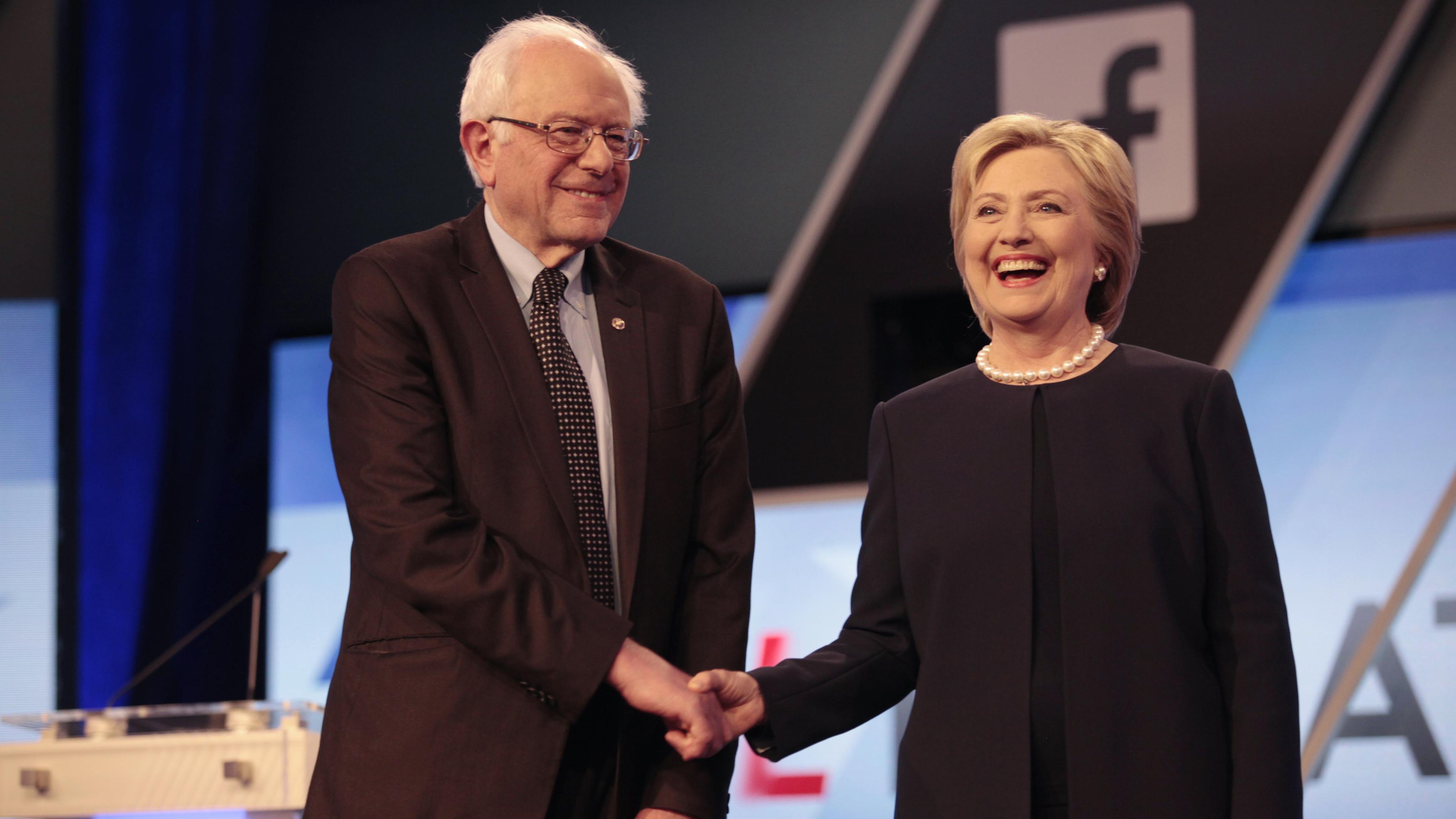 Clinton Sanders edit