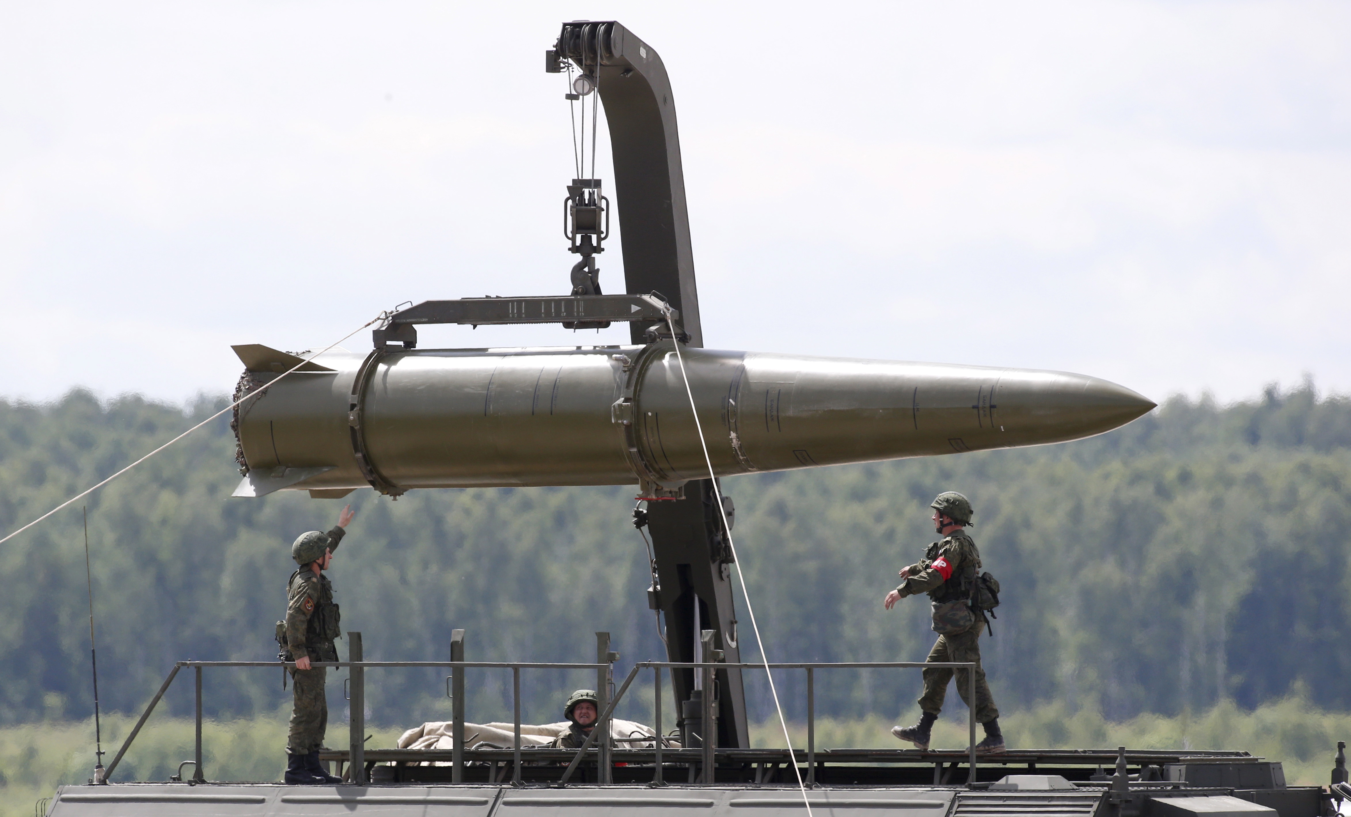 Russia Iskander tactical missile system
