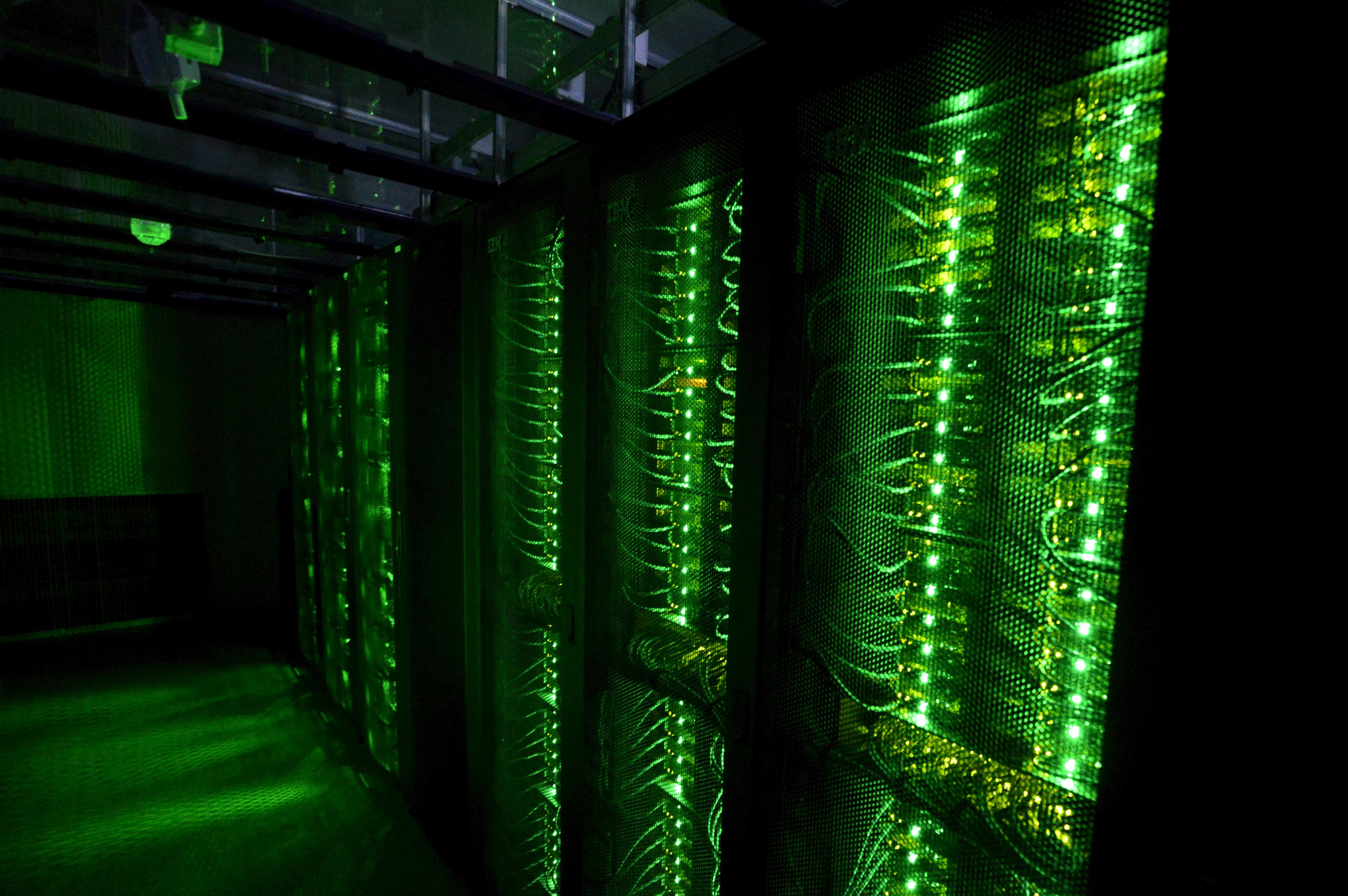 Server farm in Iceland