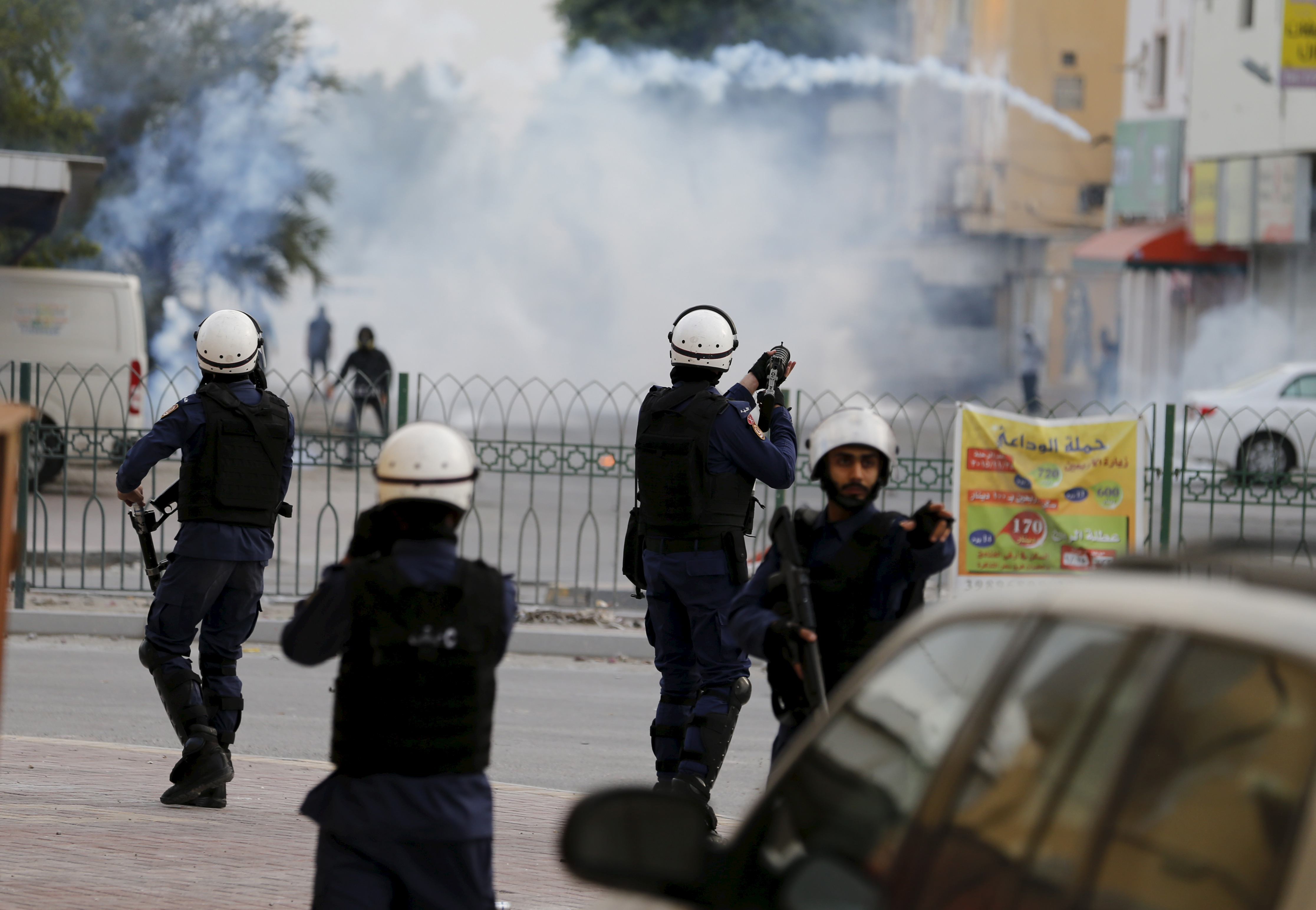 Image result for police repression in manama nimr