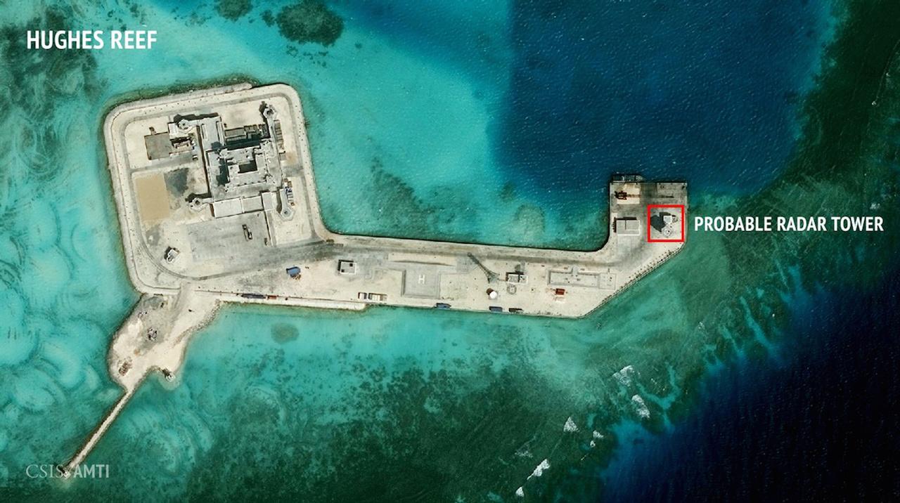 South China sea military