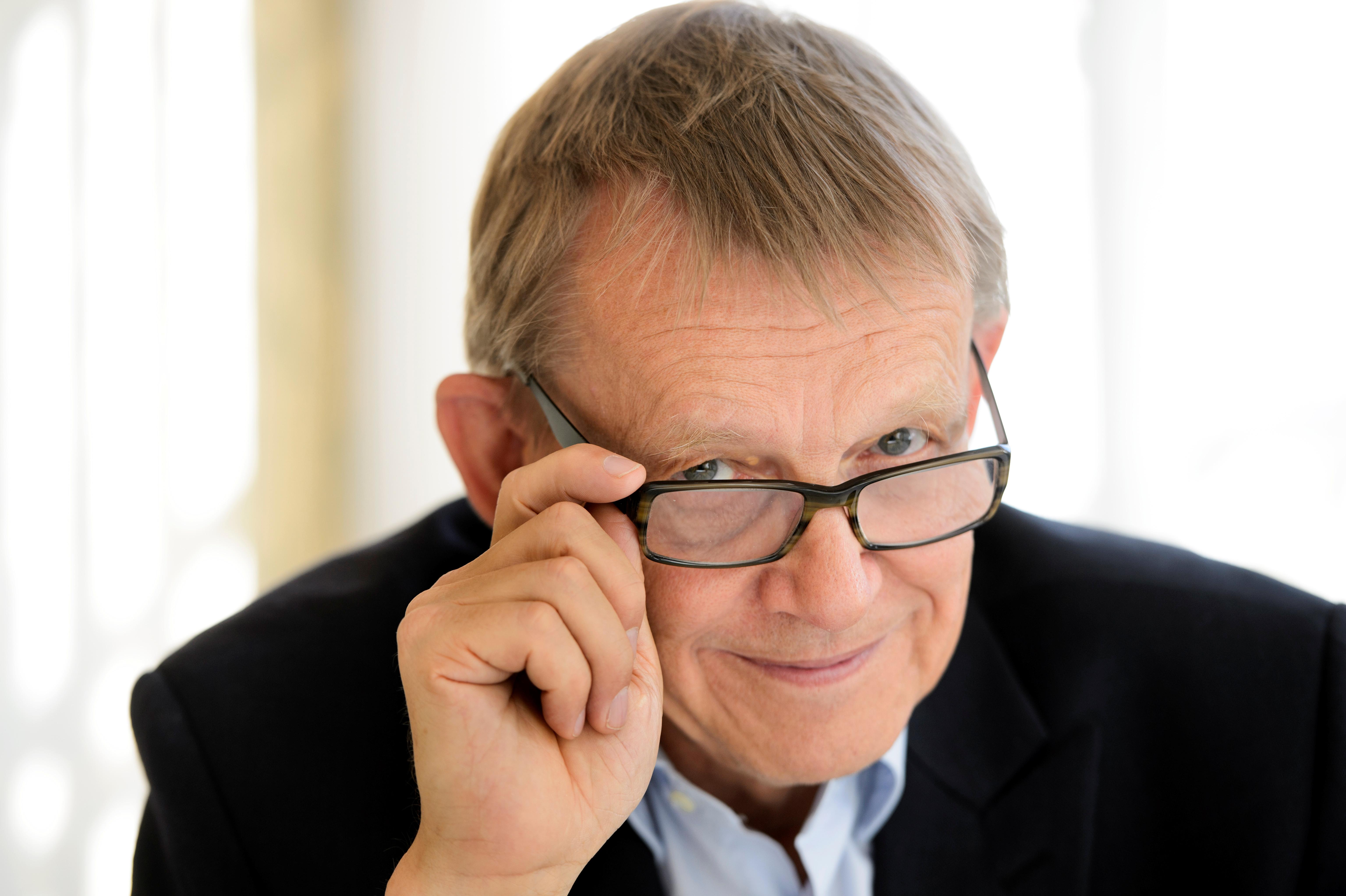 Swedish statistician Hans Rosling in 2015
