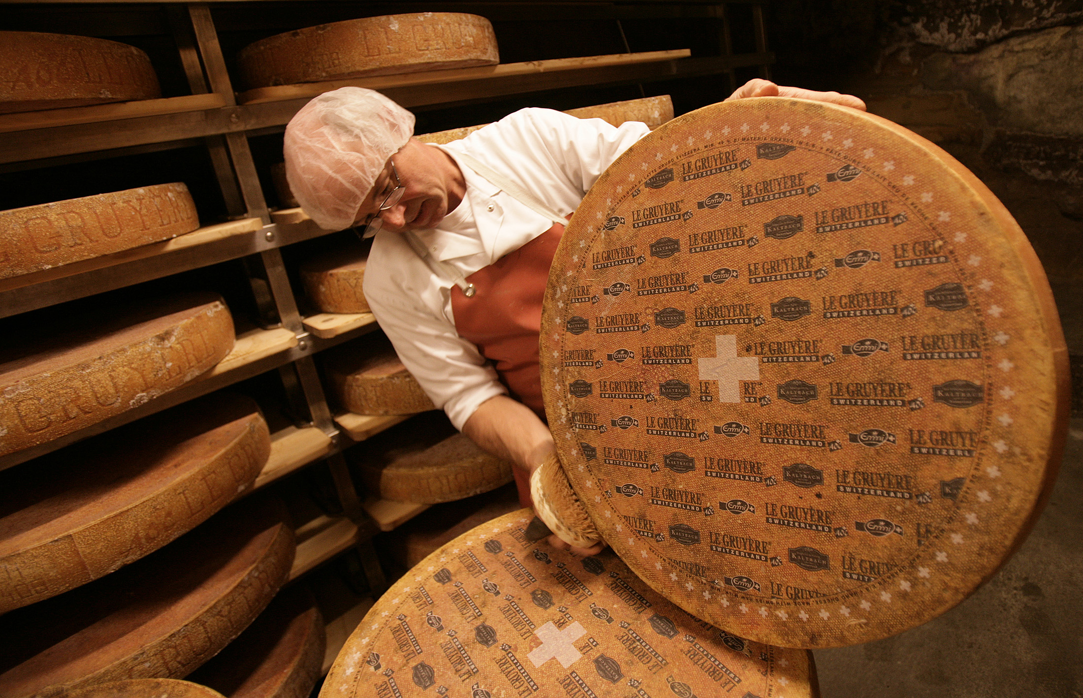 8 Swiss Cheeses That Will Blow Your Mind - Food Republic |Swiss Cheese Wheel