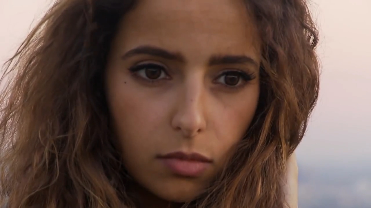 Saudi singer Rotana Tarabzouni at home in Los Angeles.