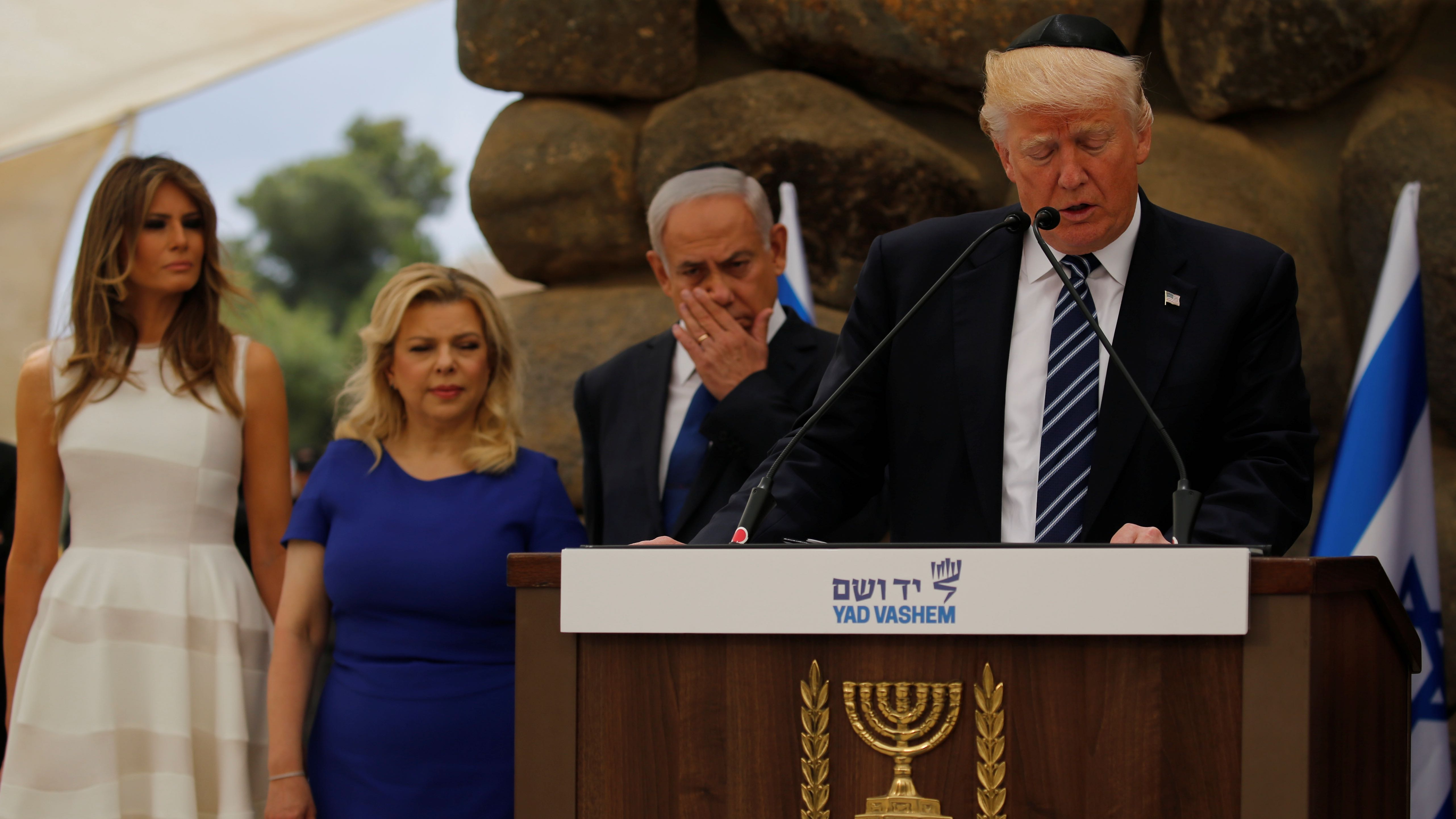 The complete timeline of awkward moments from Trump's two days in Israel