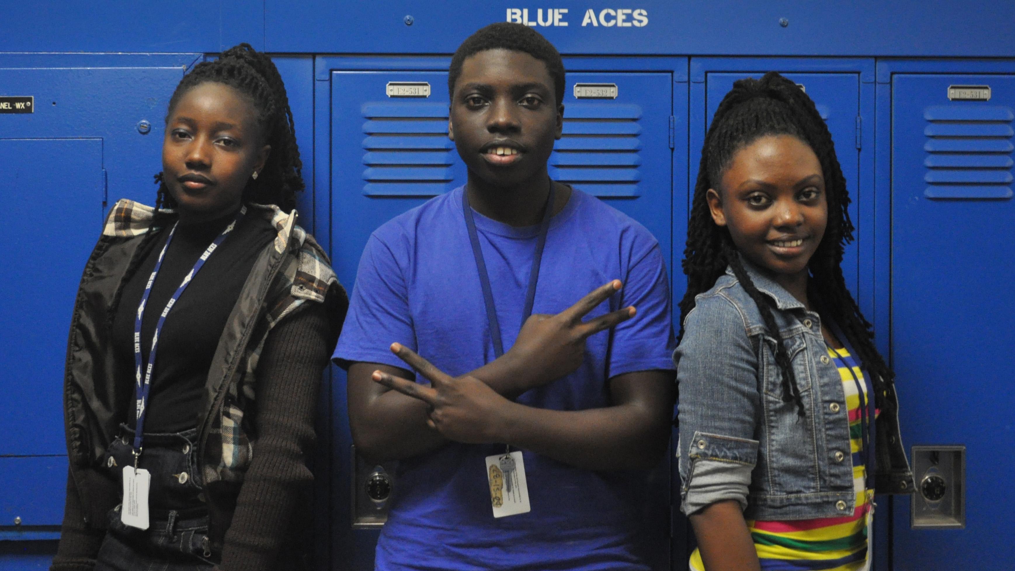 Refugee students Wichita East High School