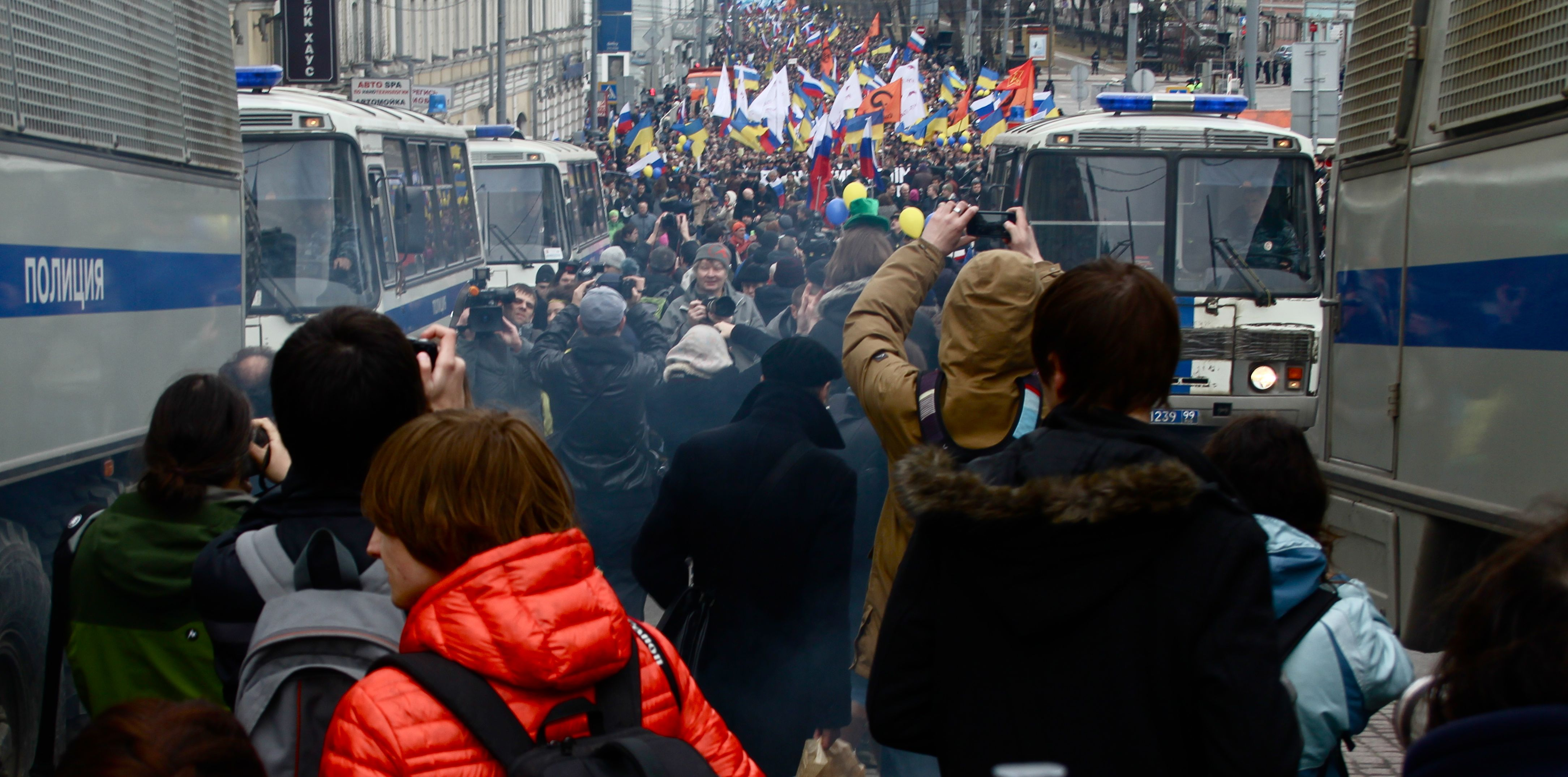 It's getting harder to find independent media in Russia ...March For Peace
