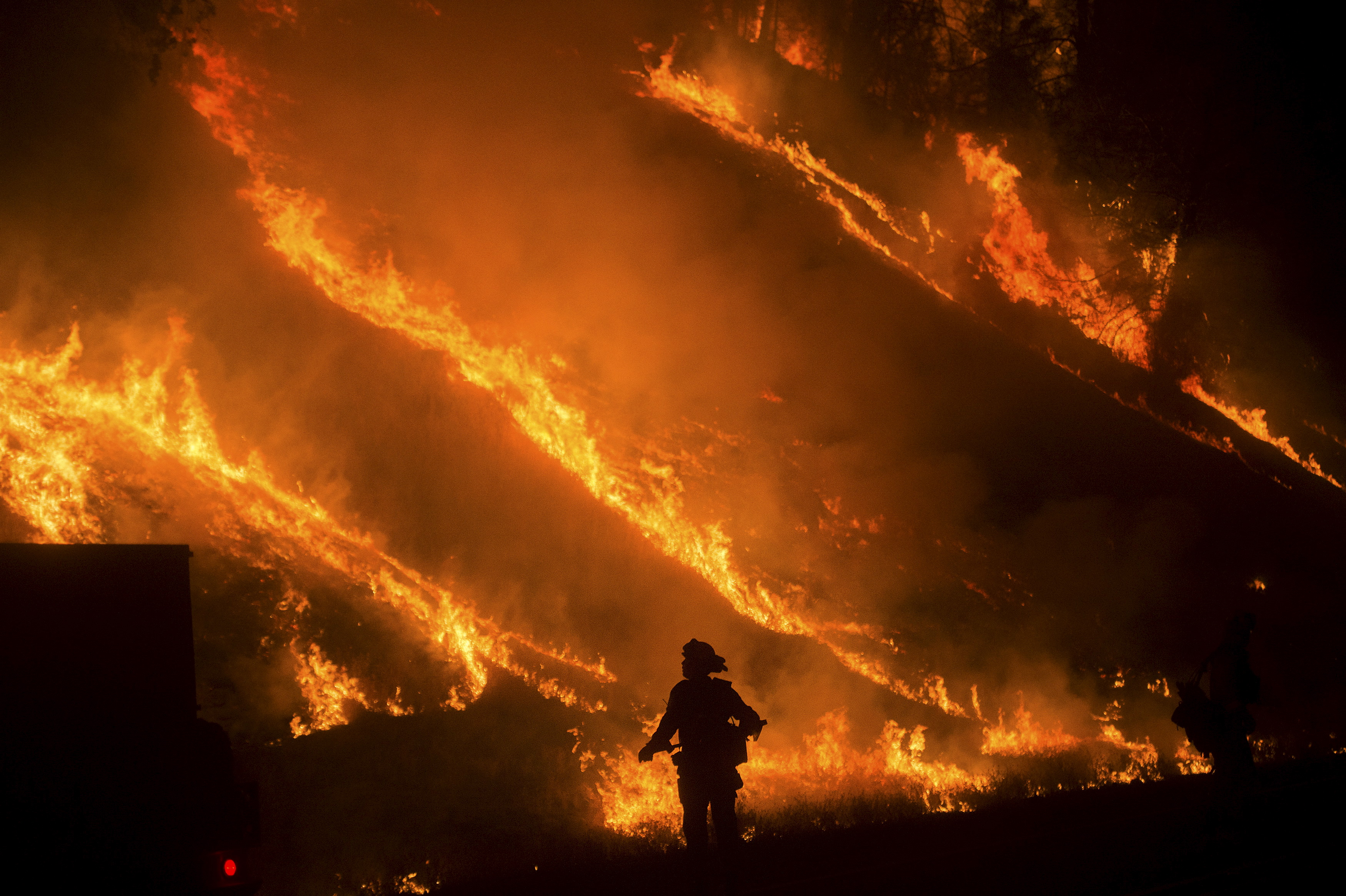 CalFire Chief Paul Duncan lost his home this weekend, but ...