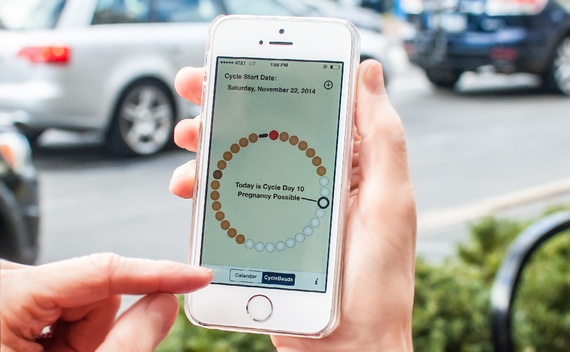 """CycleBeads are among the apps offering to help with """"user-directed birth control."""""""