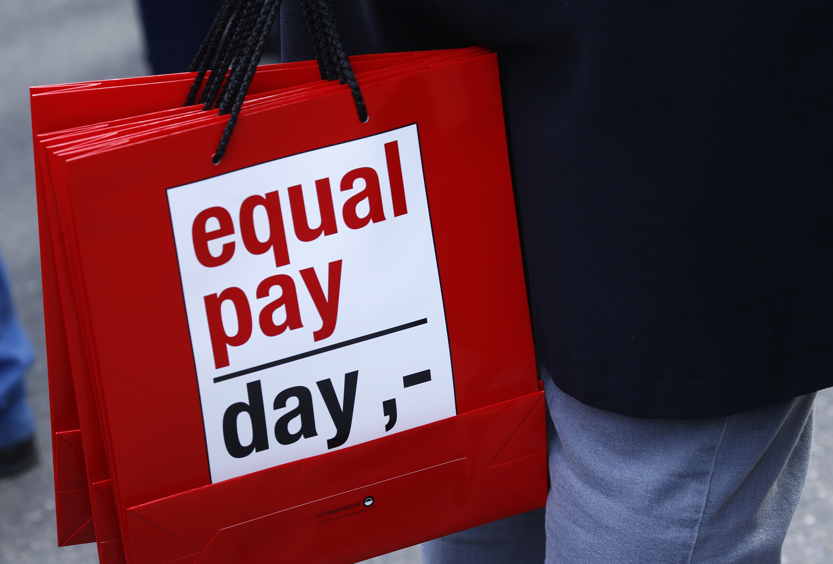 Equal pay bags