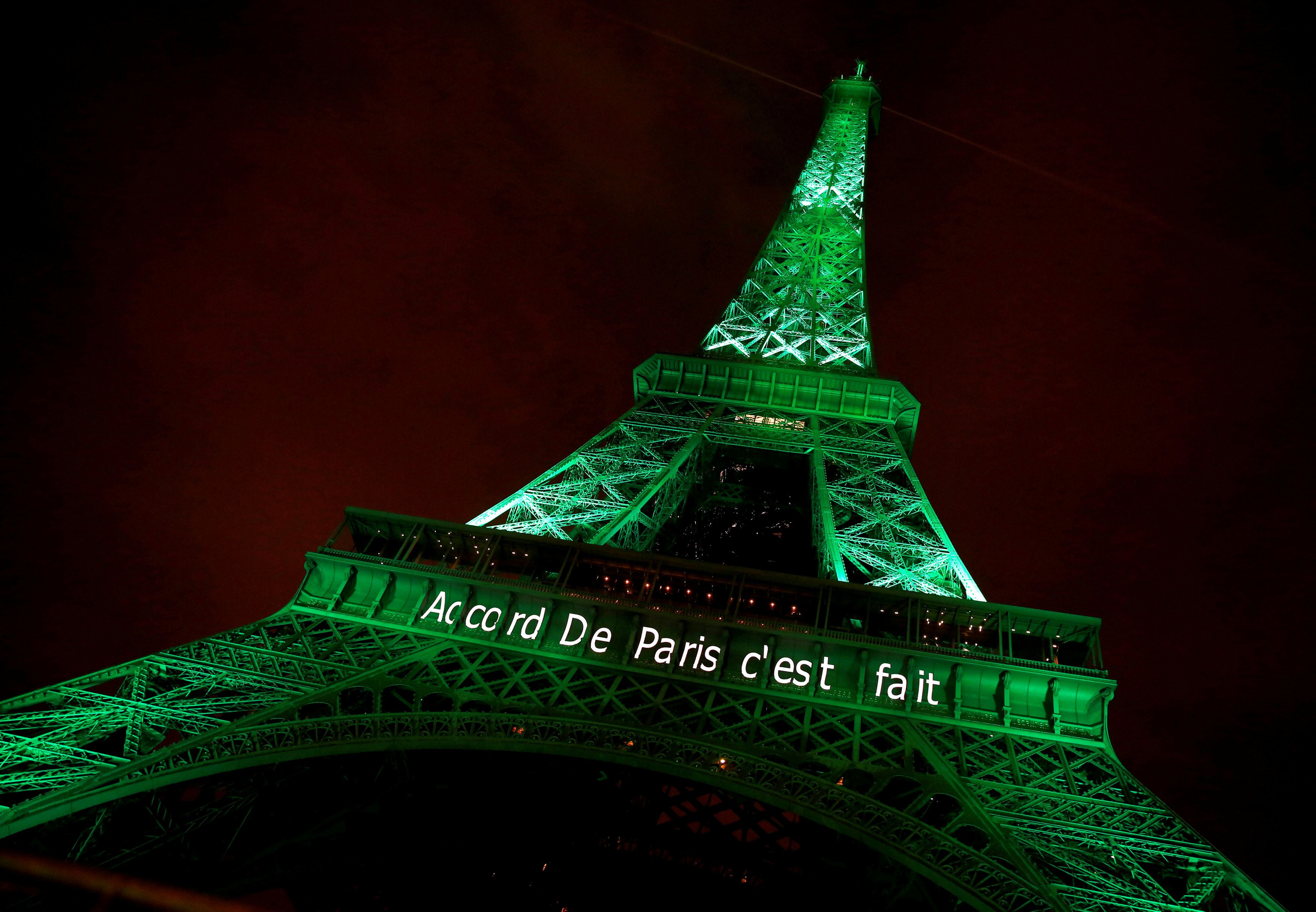 Signs point to US backing out of Paris climate agreement but – Words of Agreement