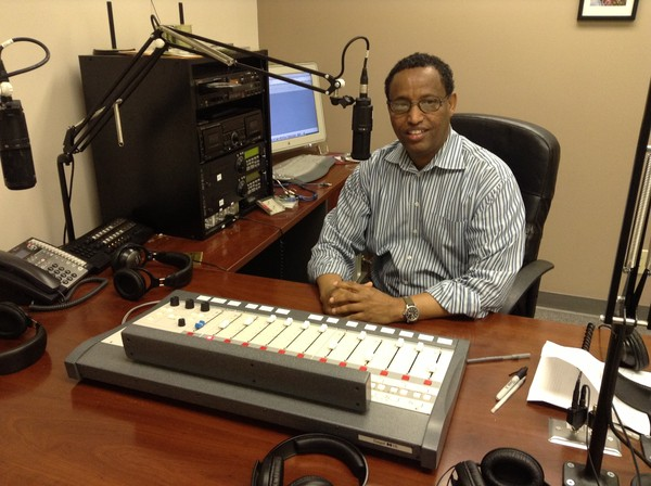 Hussein Mohamed, originally from Ethiopia, runs a radio show for African immigrants in his hometown of Atlanta.