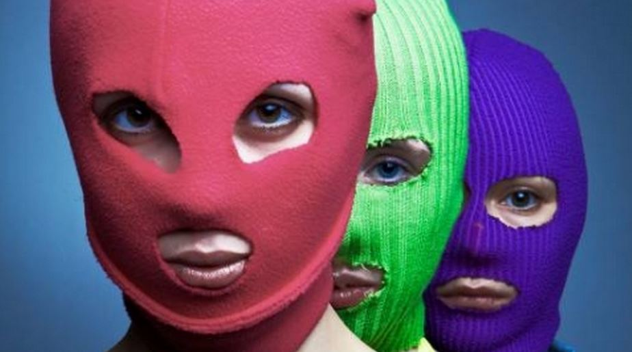 Pussy Riot is a feminist punk guerilla performance collective. Their unauthorized public performances address feminism, LGBT rights, and opposition to Russian President Putin.