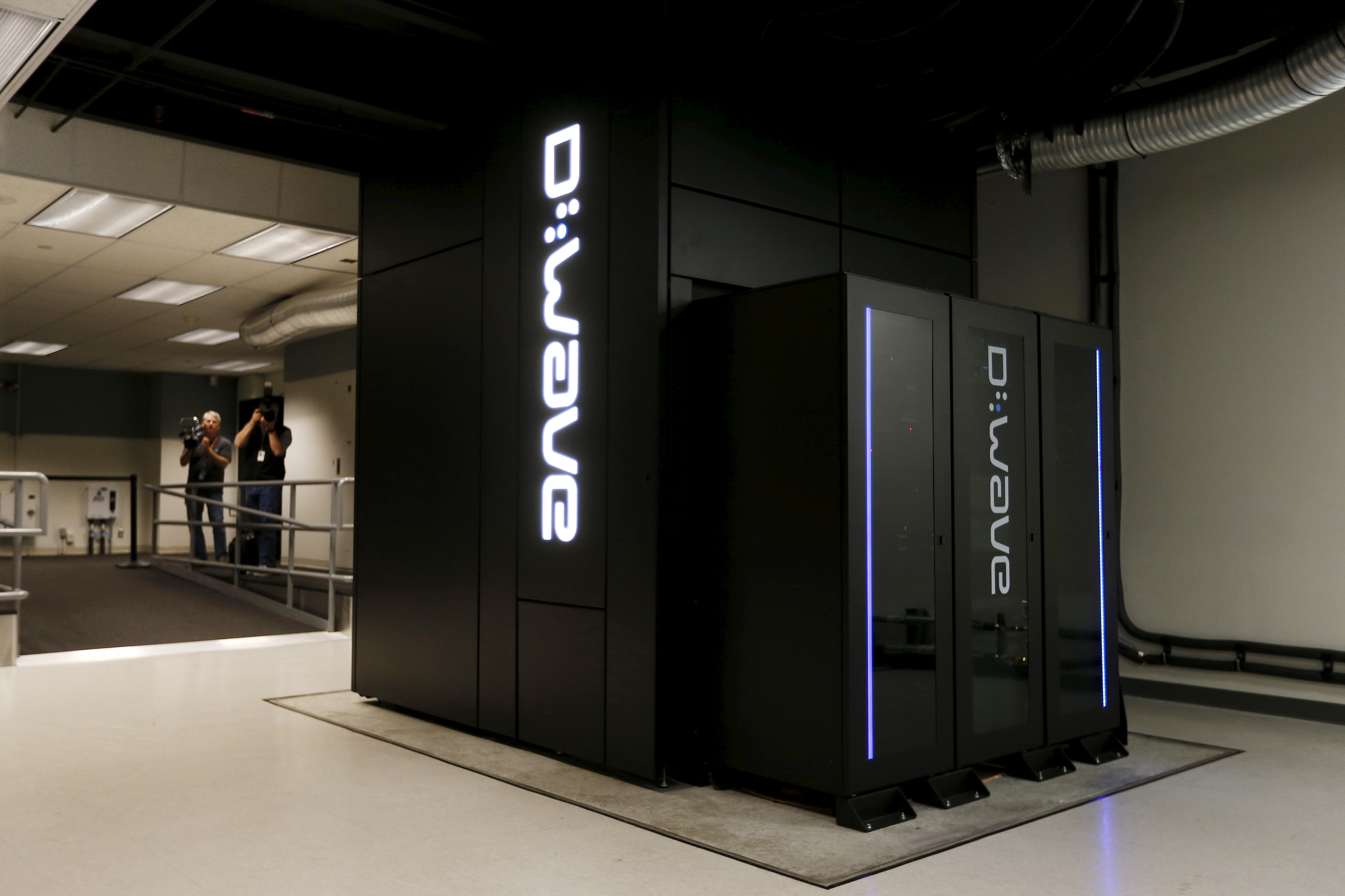 A D-Wave 2X quantum computer is pictured during a media tour of the Quantum Artificial Intelligence Laboratory (QuAIL) at NASA Ames Research Center in Mountain View, California, December 8, 2015.