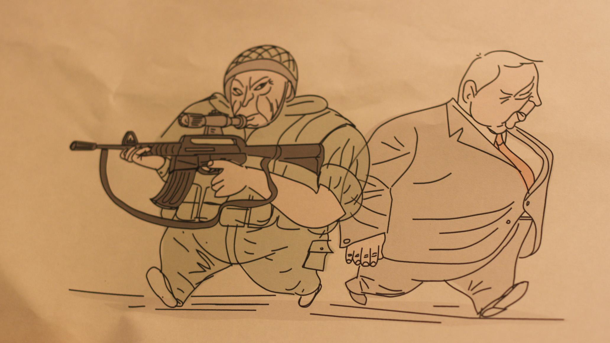 Sharon cartoon